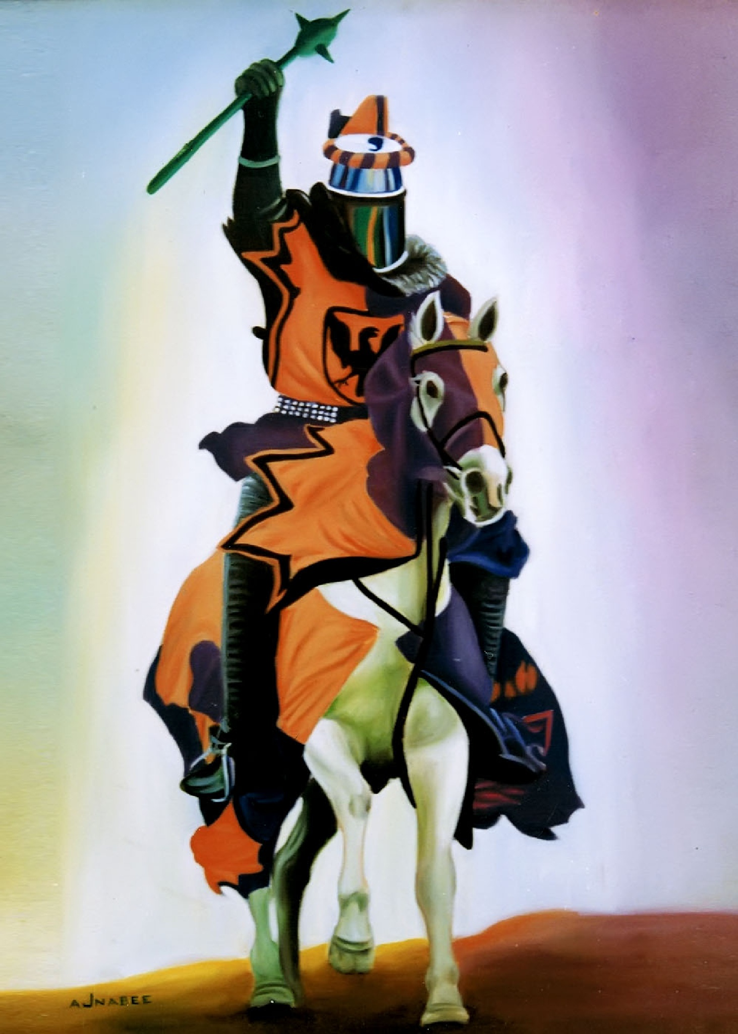 SOLDIER ( OIL PAINTING ) by iqbalajnabee506