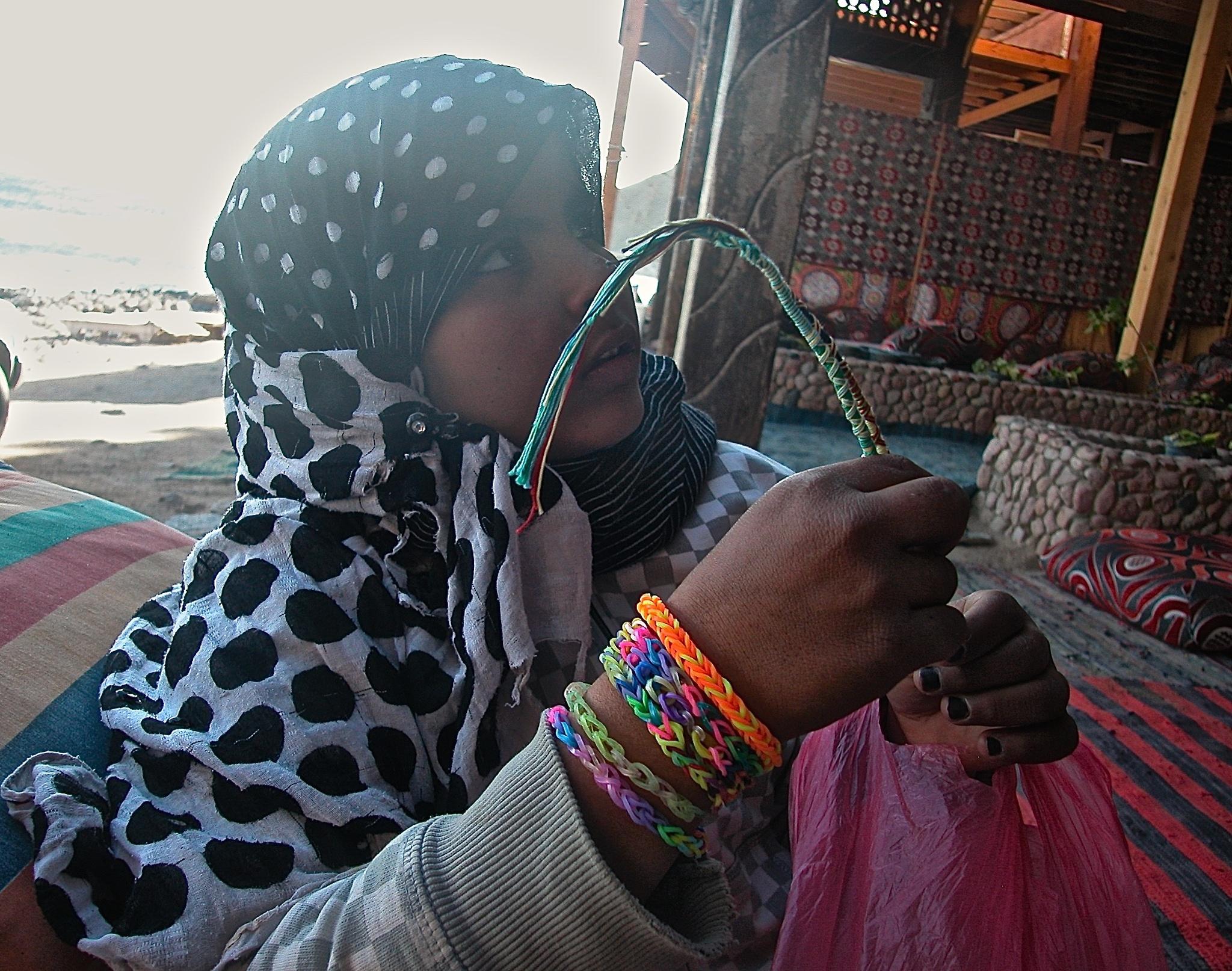 Bedouin Girl by keithjeggo