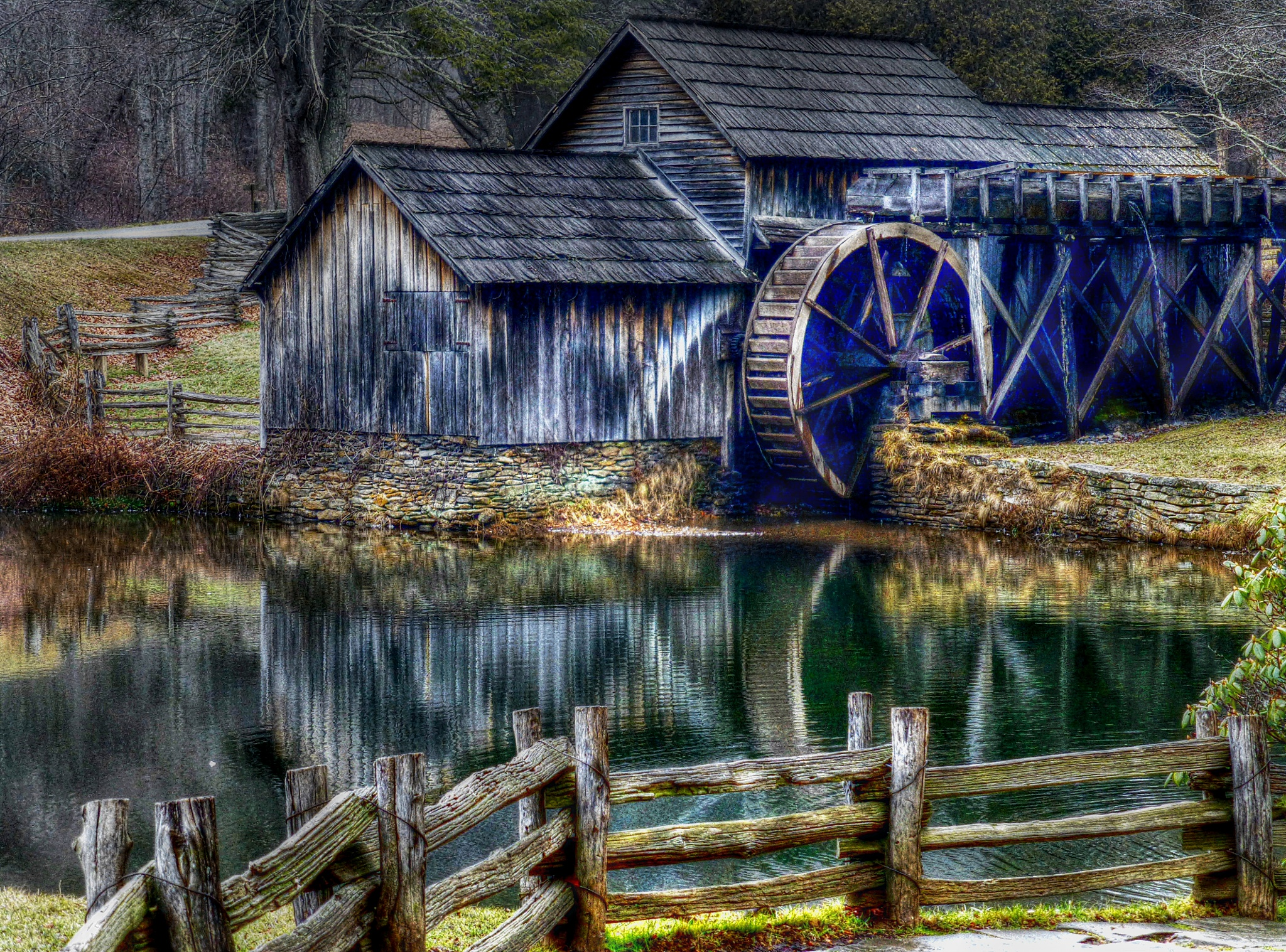 Mabry Mill by Catherine Wegener