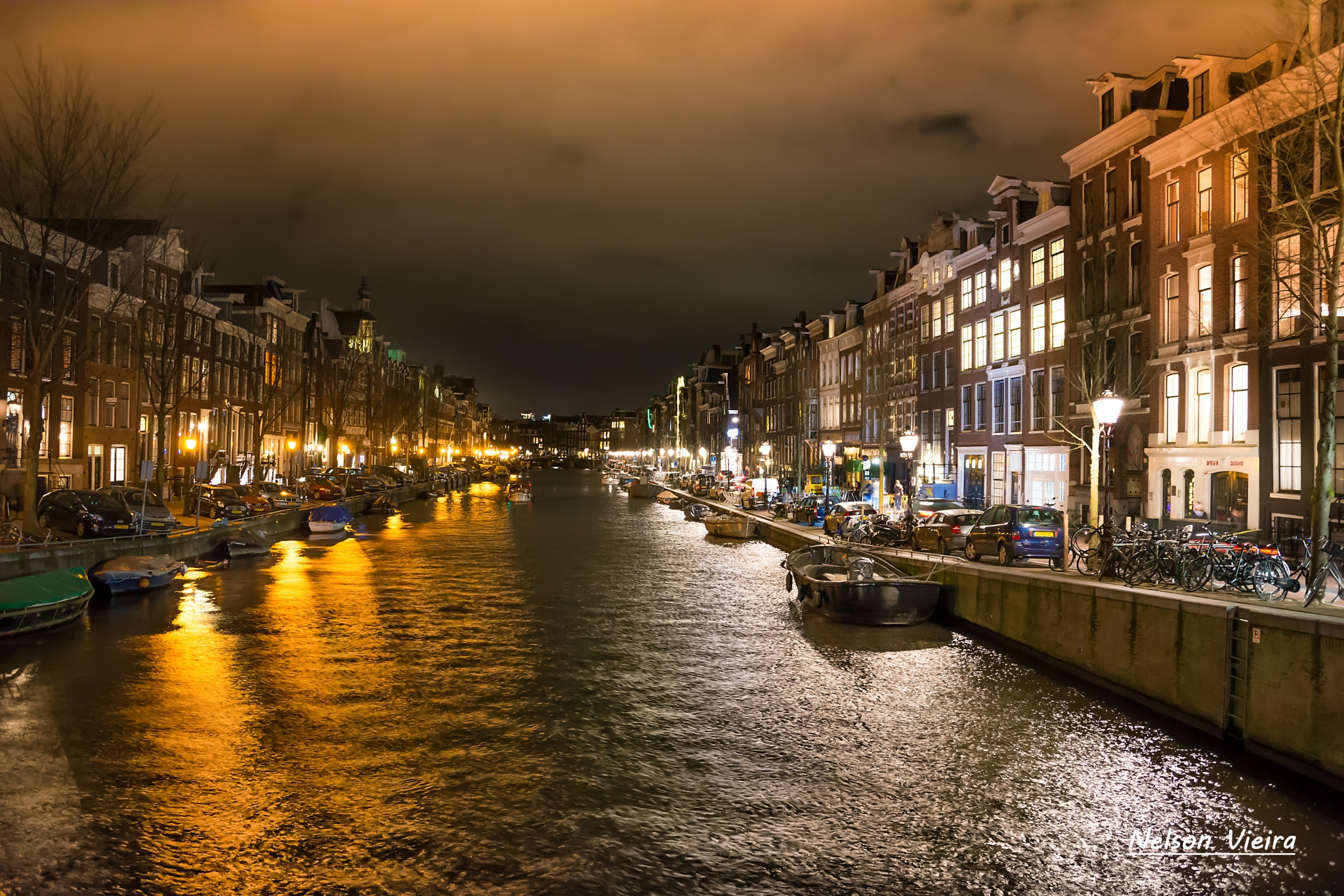 Amsterdam, City of Lights by Nelson Vieira