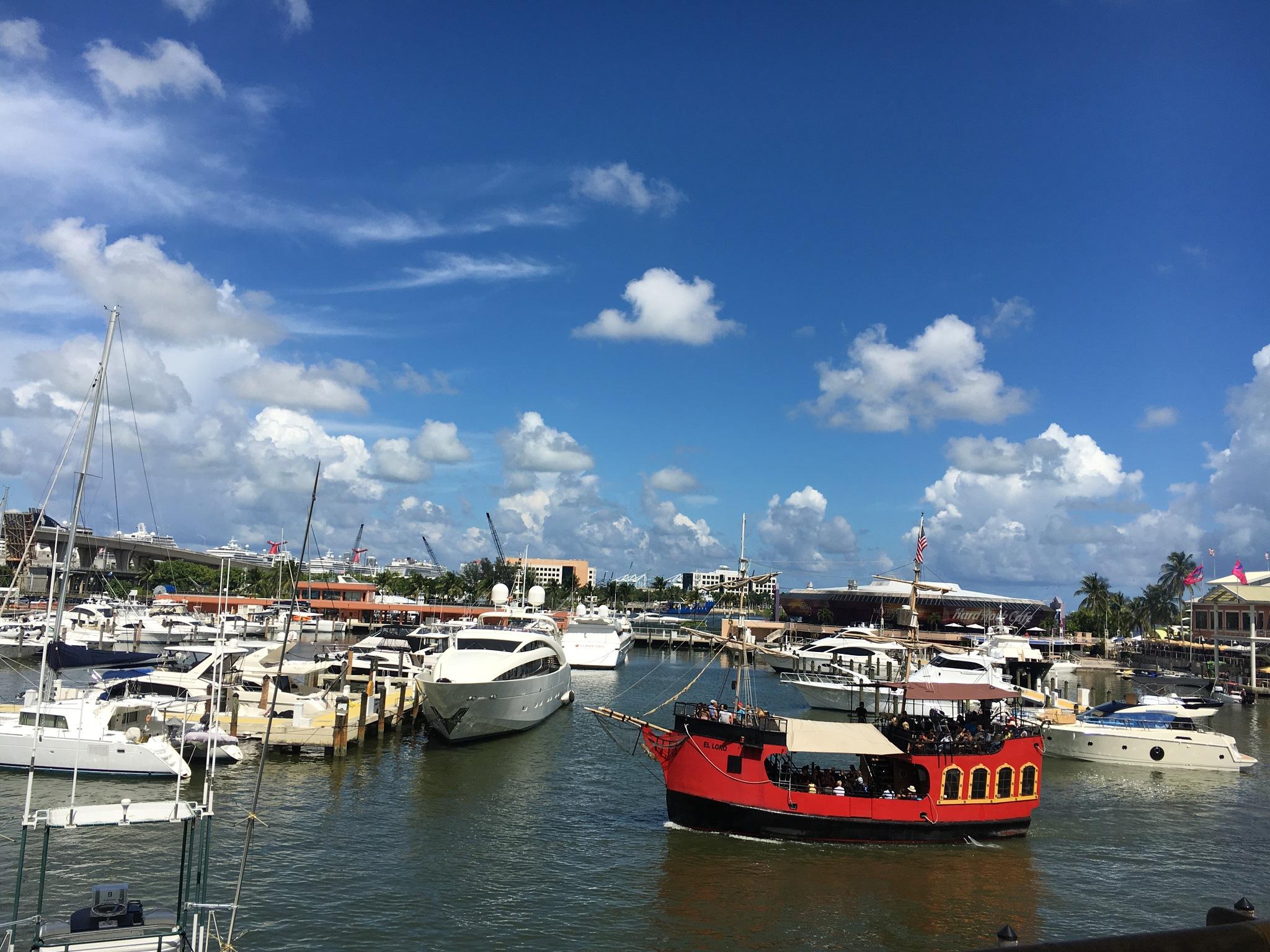 Bayside , Miami by taimyM