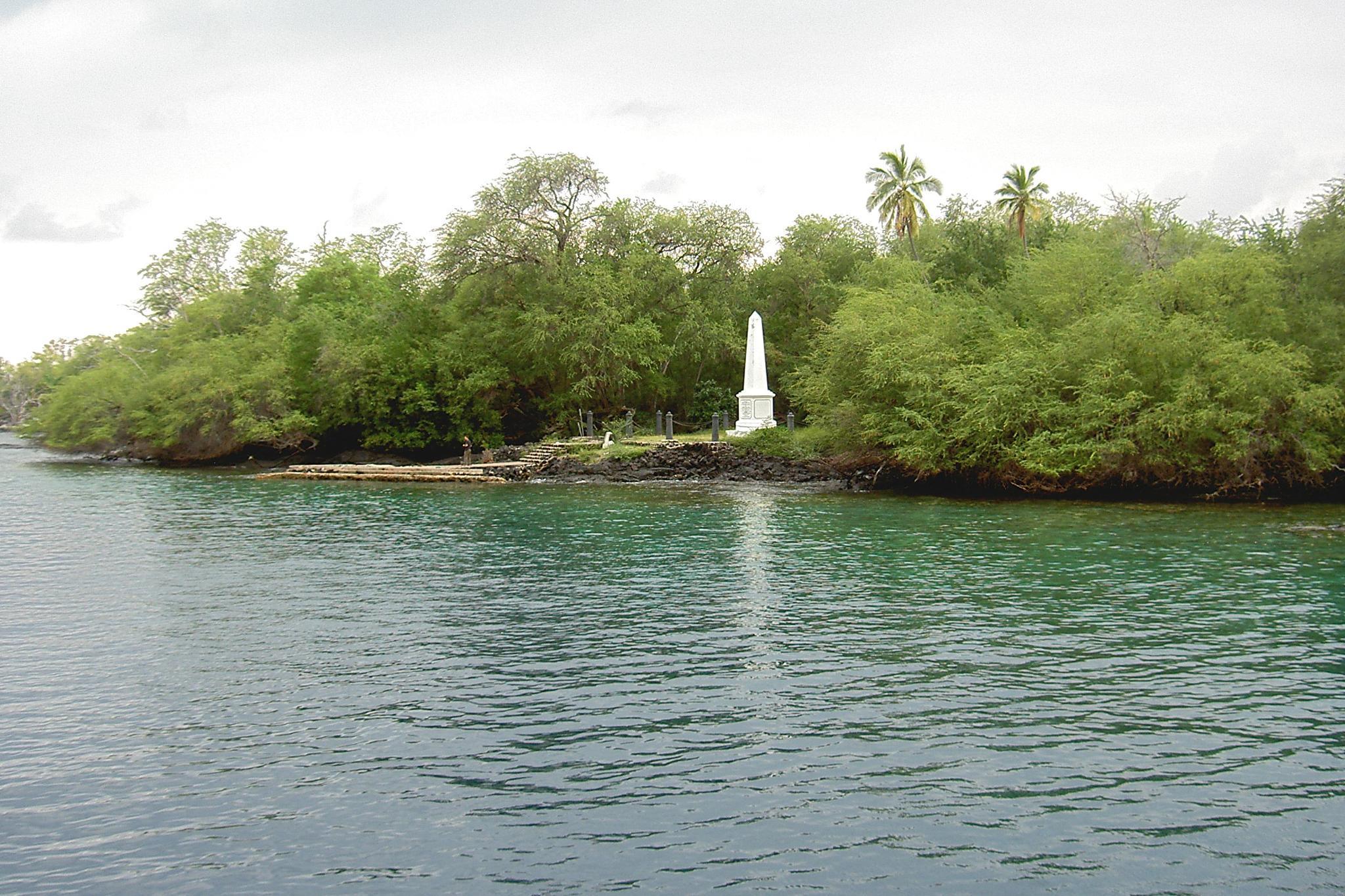 Captain Cook Monument by Terri Scache Harris