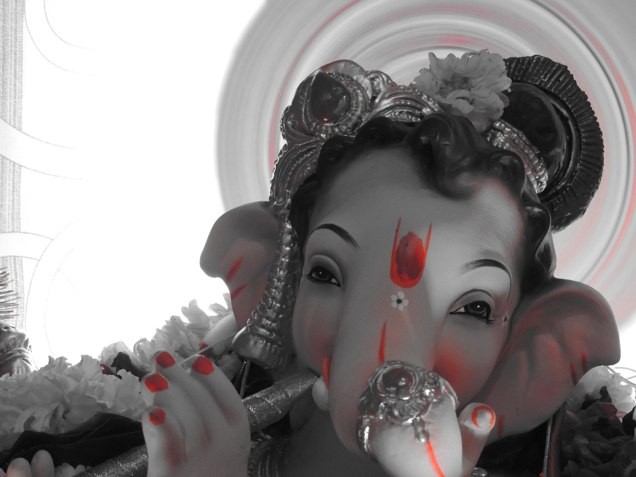 Lord Ganesha by kiranmthakur