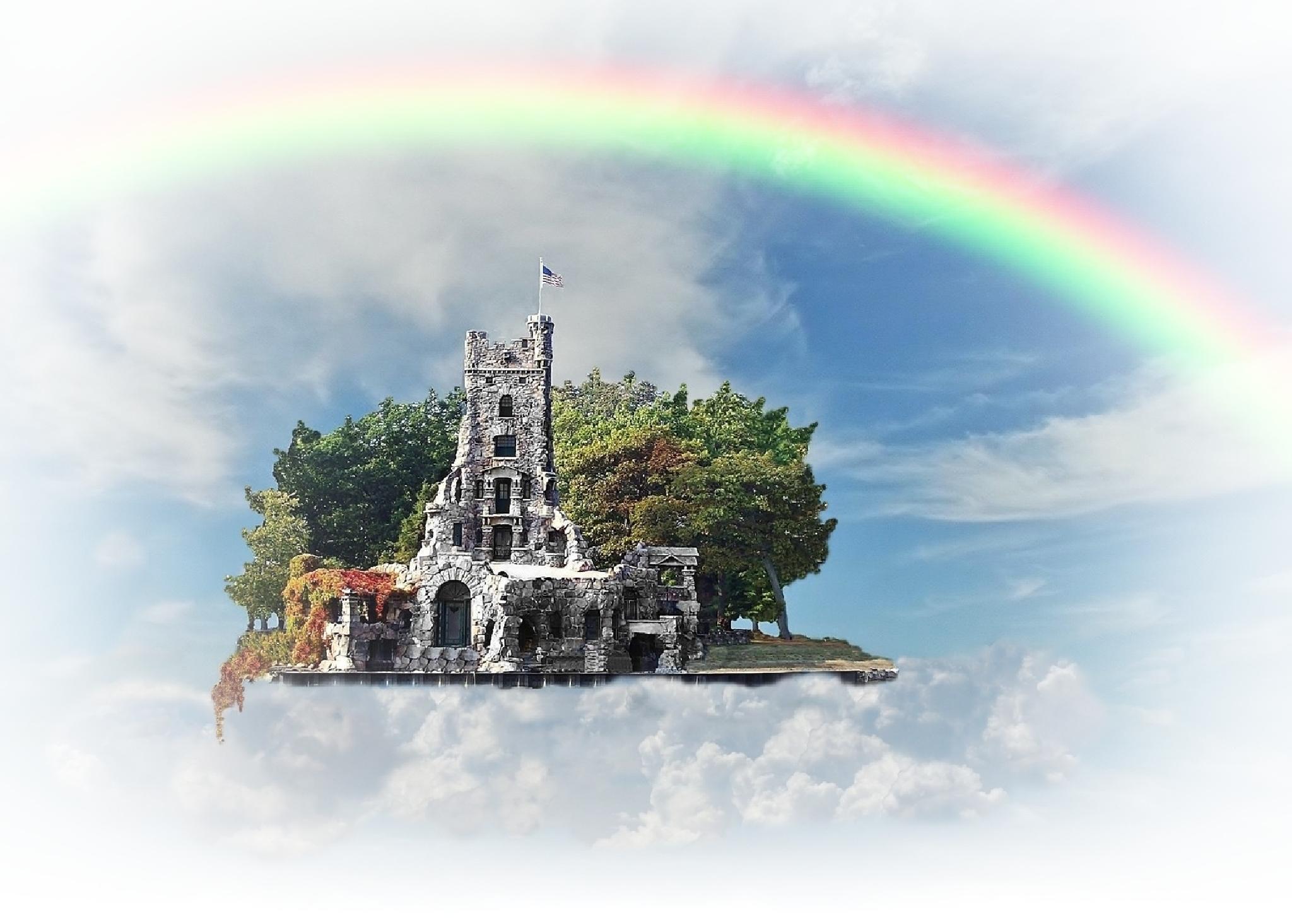 Dream Castle by Sorin Panait