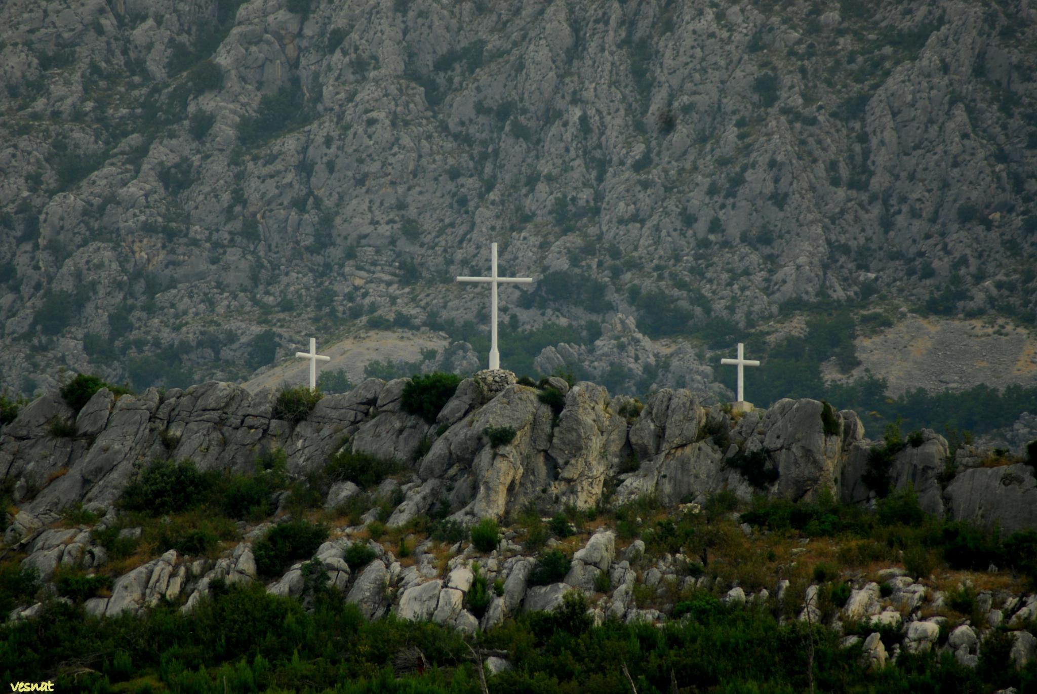 under the mountain Biokovo, Croatia by vesna.tafra