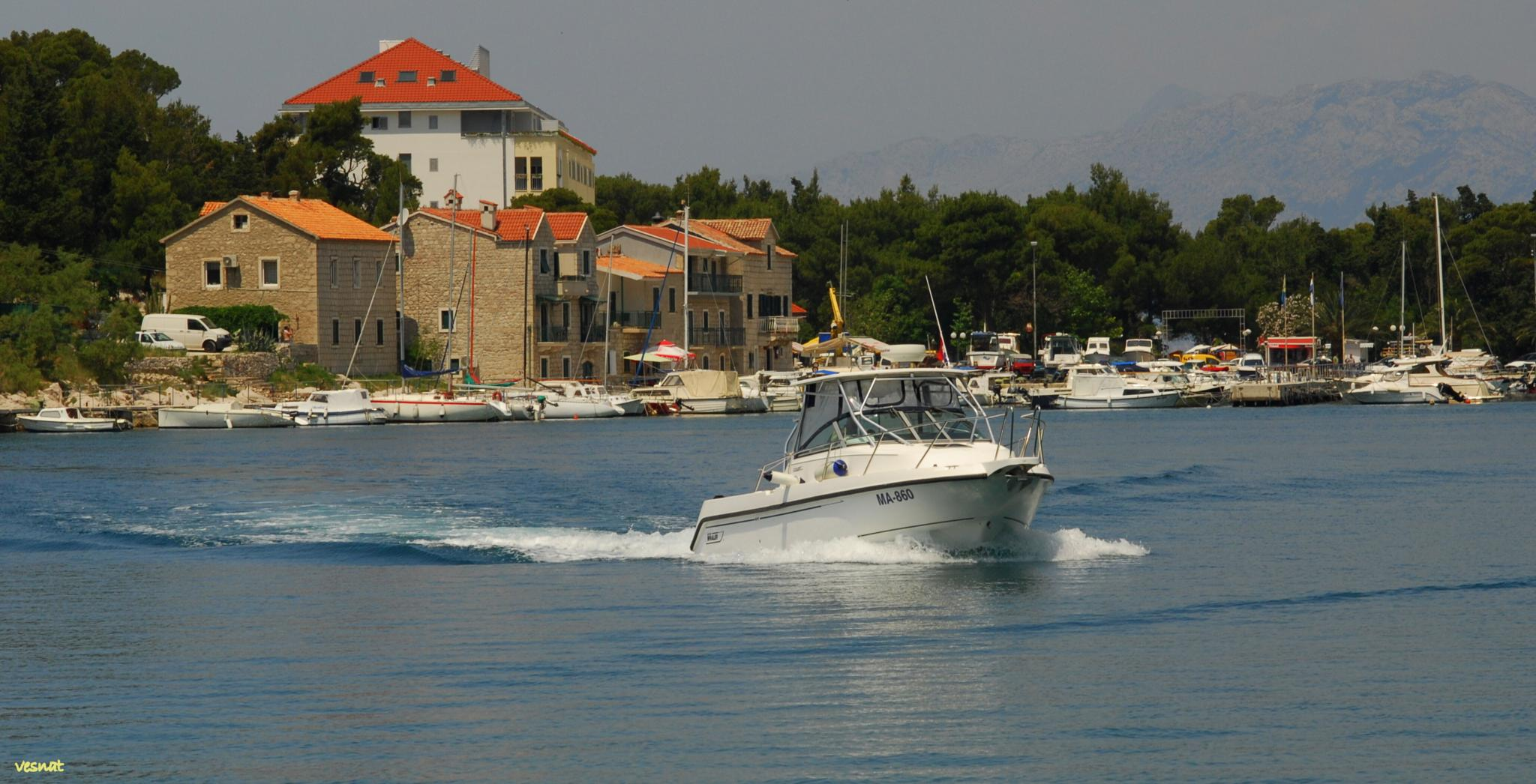 Makarska, Adriatic coast, Croatia by vesna.tafra