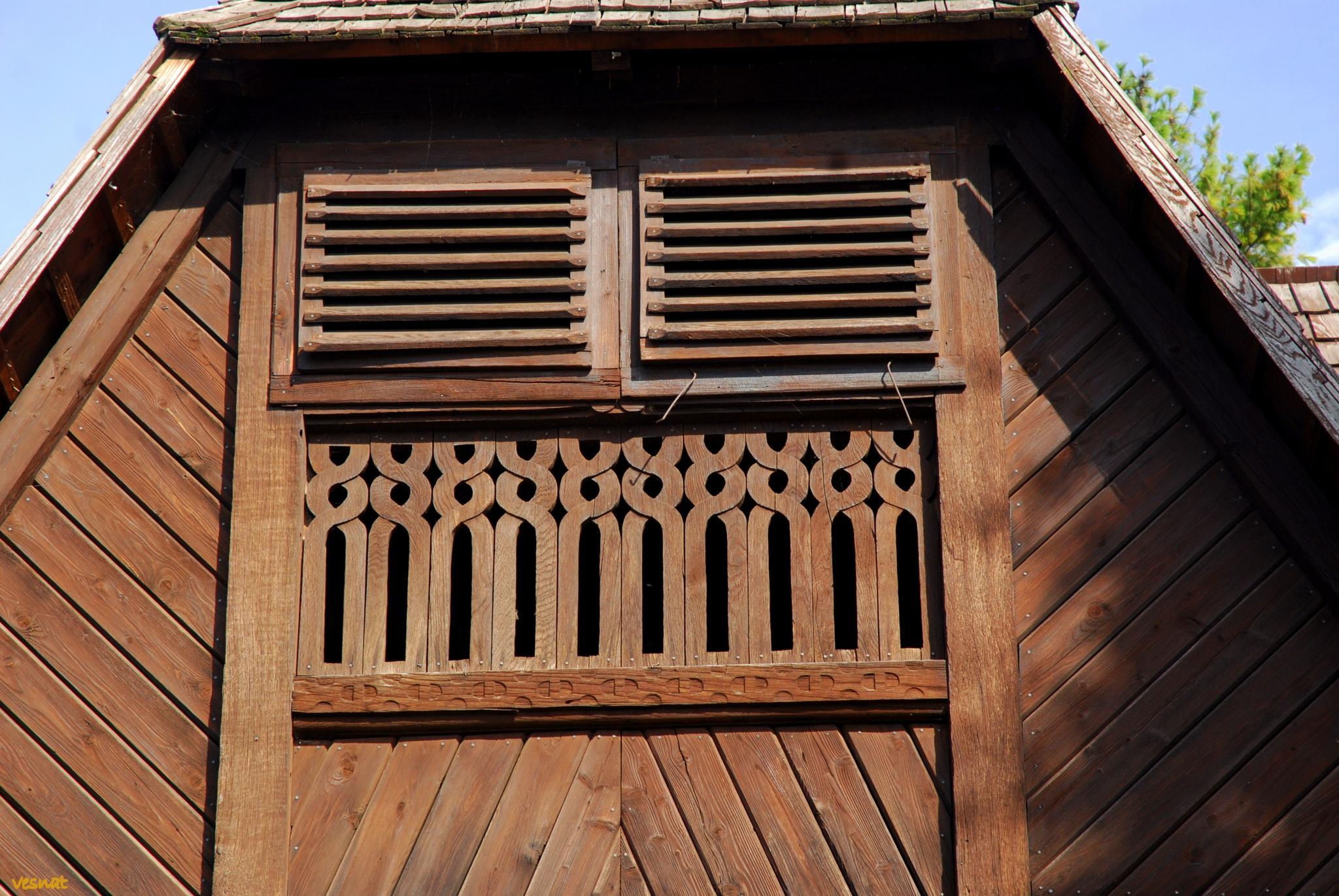 detail from the St. Barbara's Chapel, Velika Mlaka, Croatia by vesna.tafra