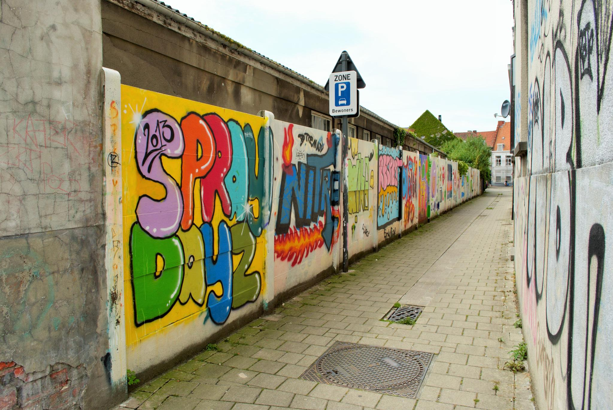 The art of graffiti by KittySchulz