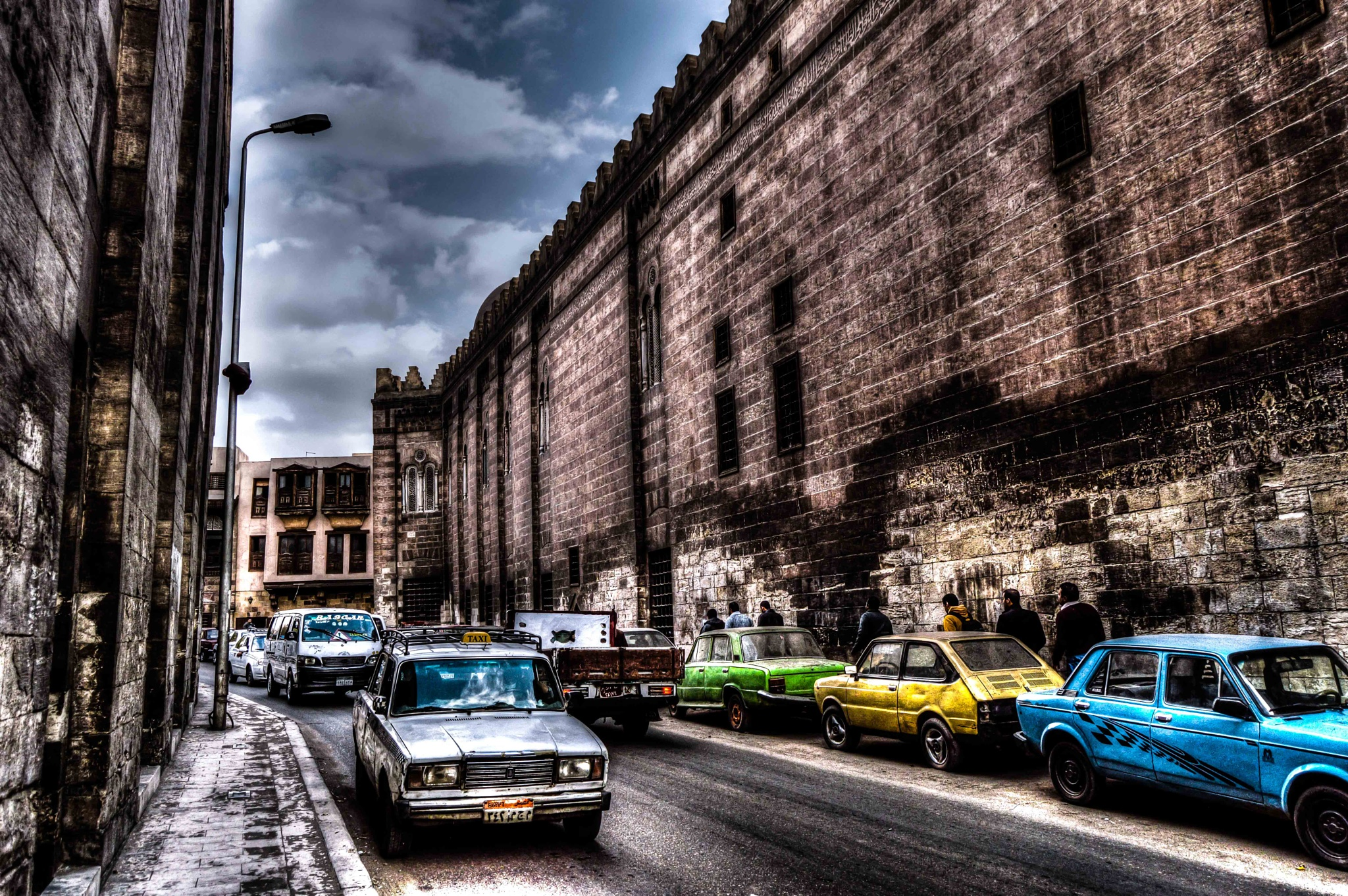 Old Cairo city by Waleed Elmiligy