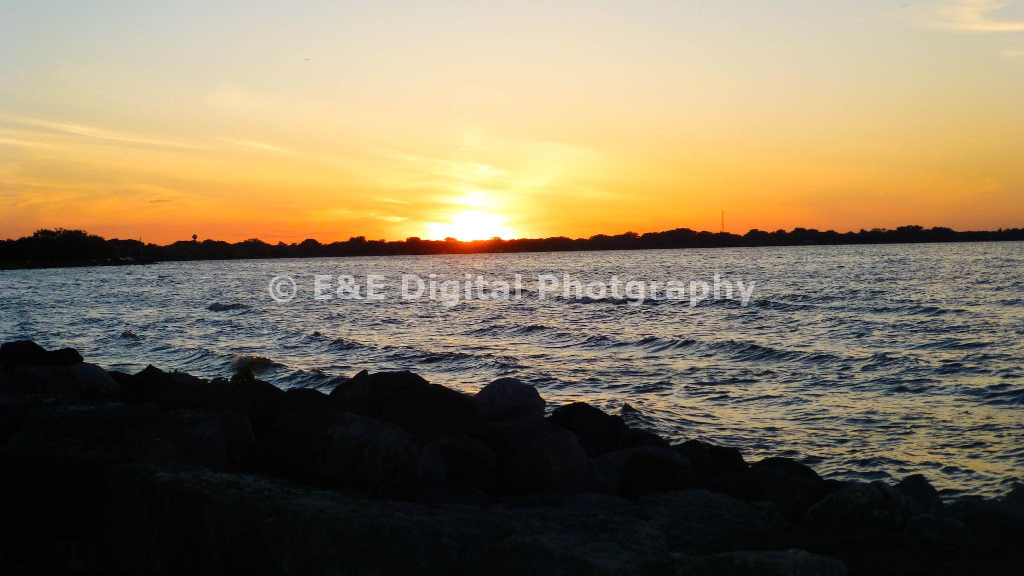 sundown at the park#4 by eric.eggers.10