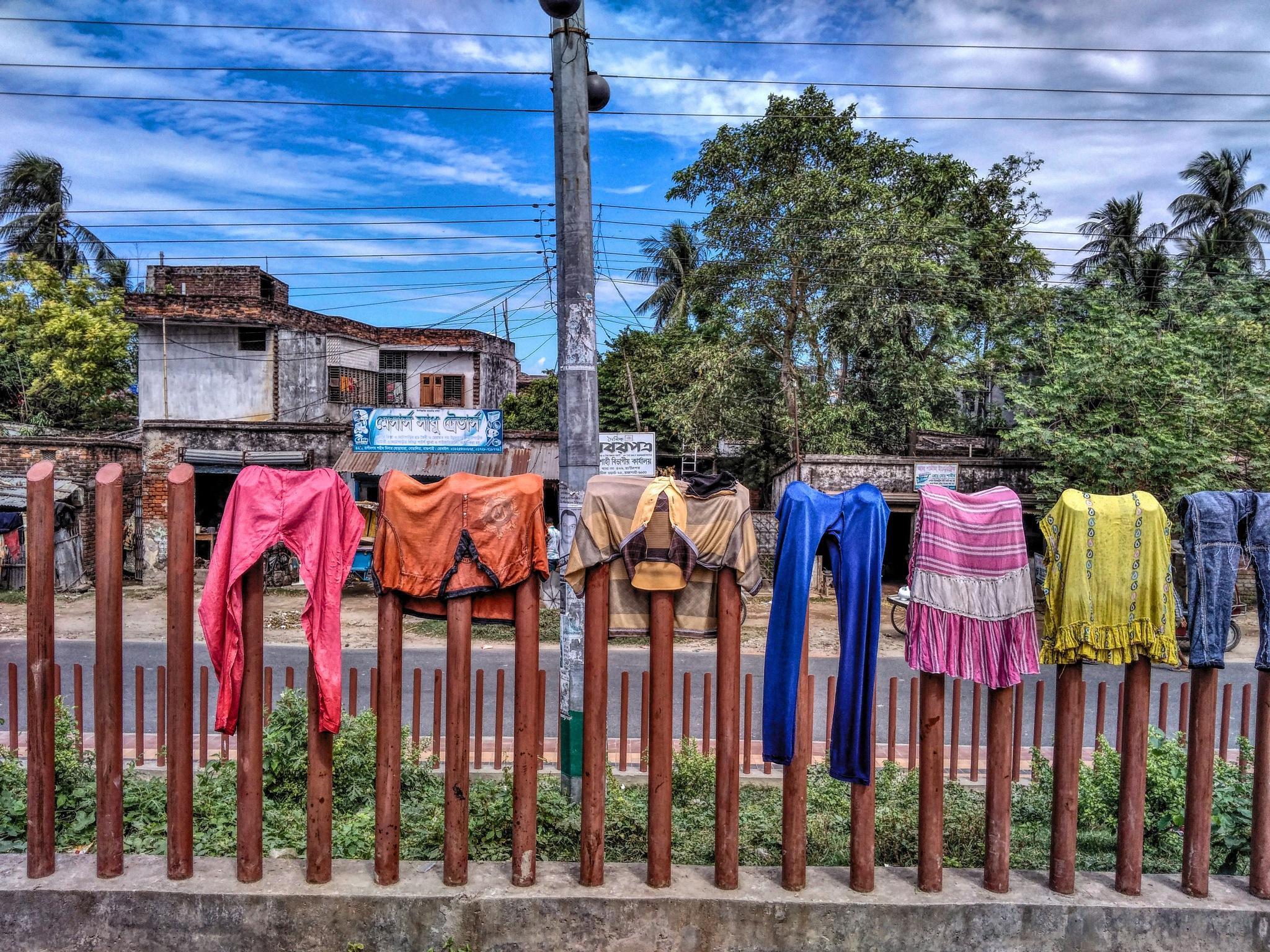 Cloth Stand by Ashik Iqbal
