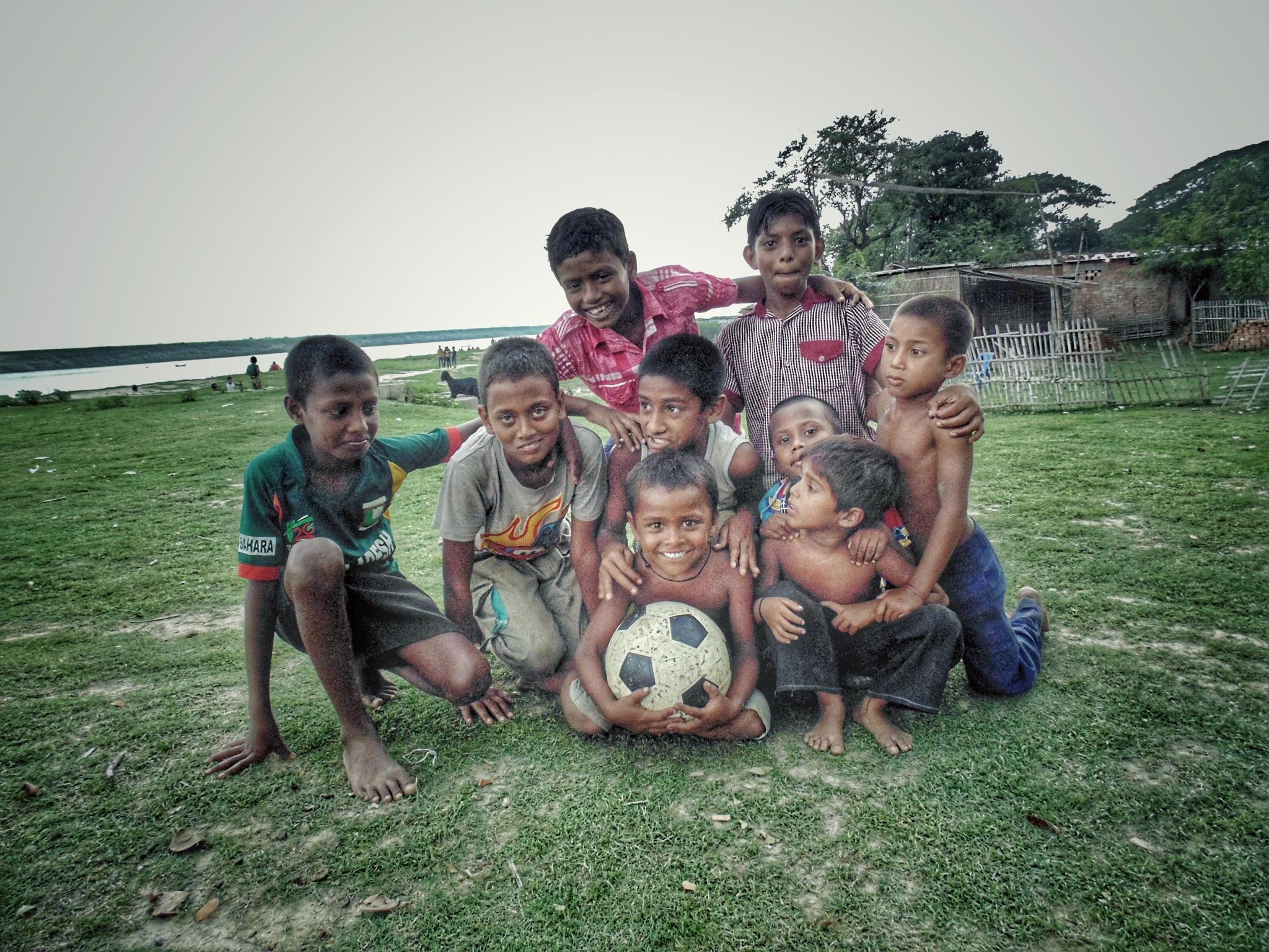 Football Team by Ashik Iqbal