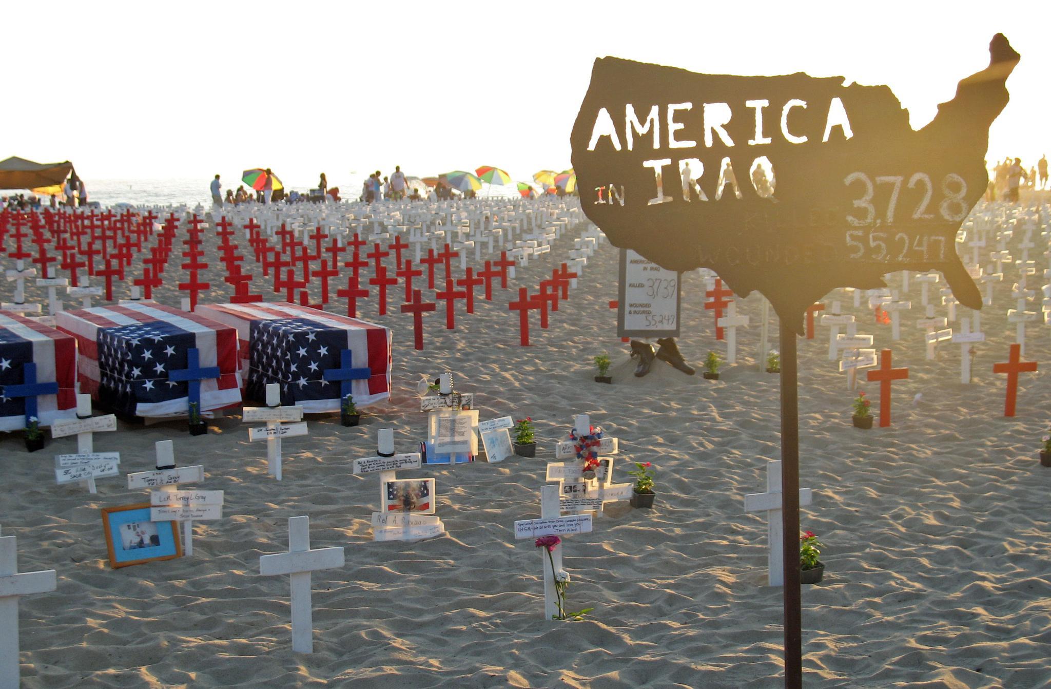 America in Iraq by Betty's View