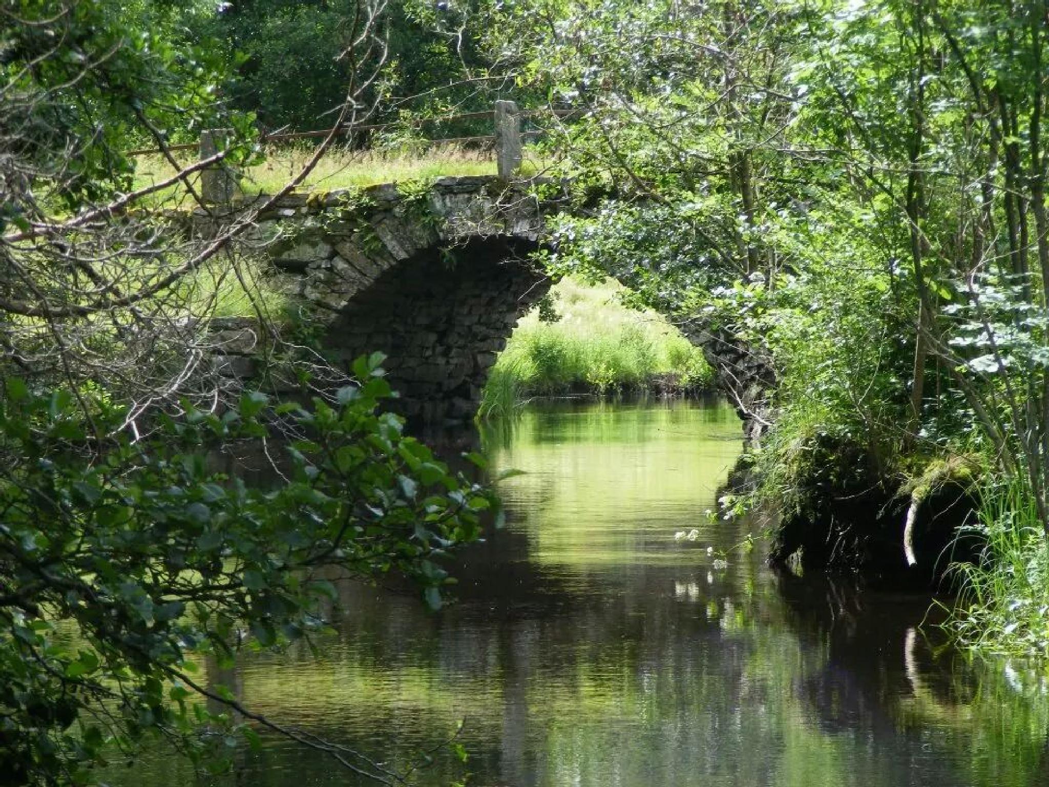 Old bridge by annemarie.augustsson