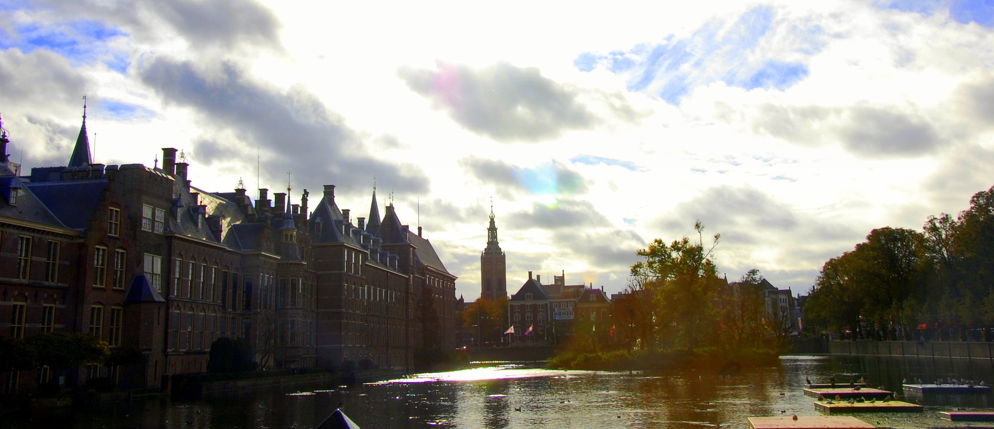 Golden October in The Hague by goga.dt