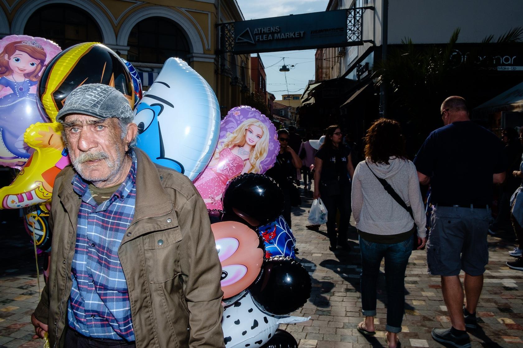 Athens Flea Market by Spyros Papaspyropoulos