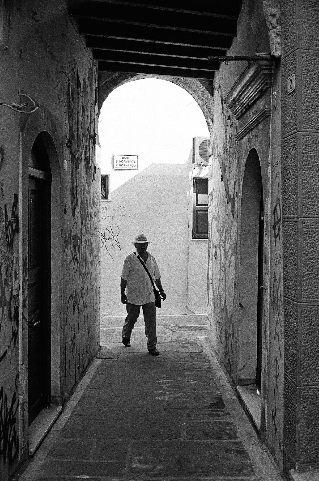 Under the archway by Spyros Papaspyropoulos