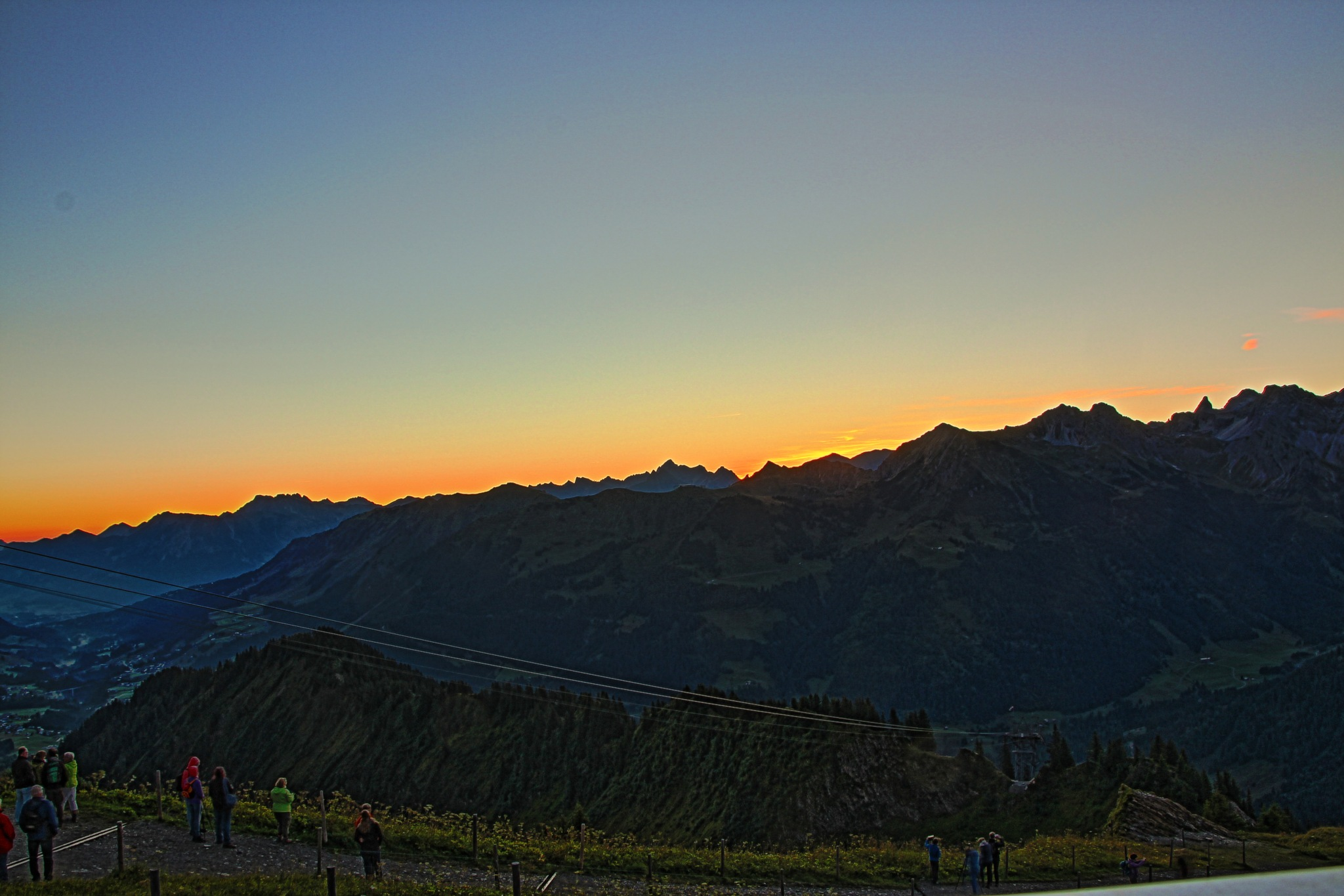 sunrise at Walmendingerhorn by helen.vandenbroek.9