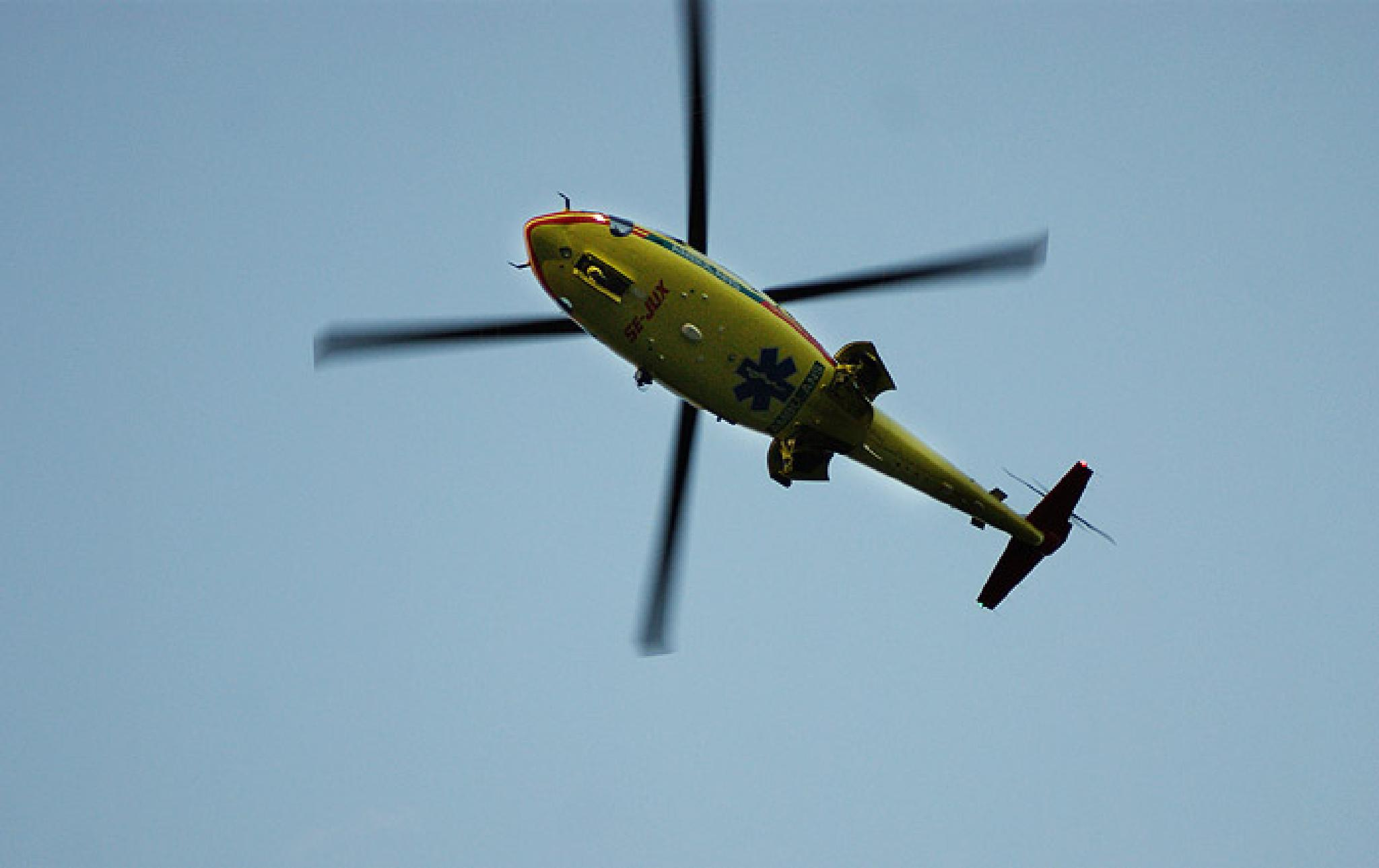 Helicopter by linnankarstrand