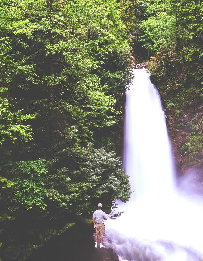 waterfall of palovit by necatiphoto
