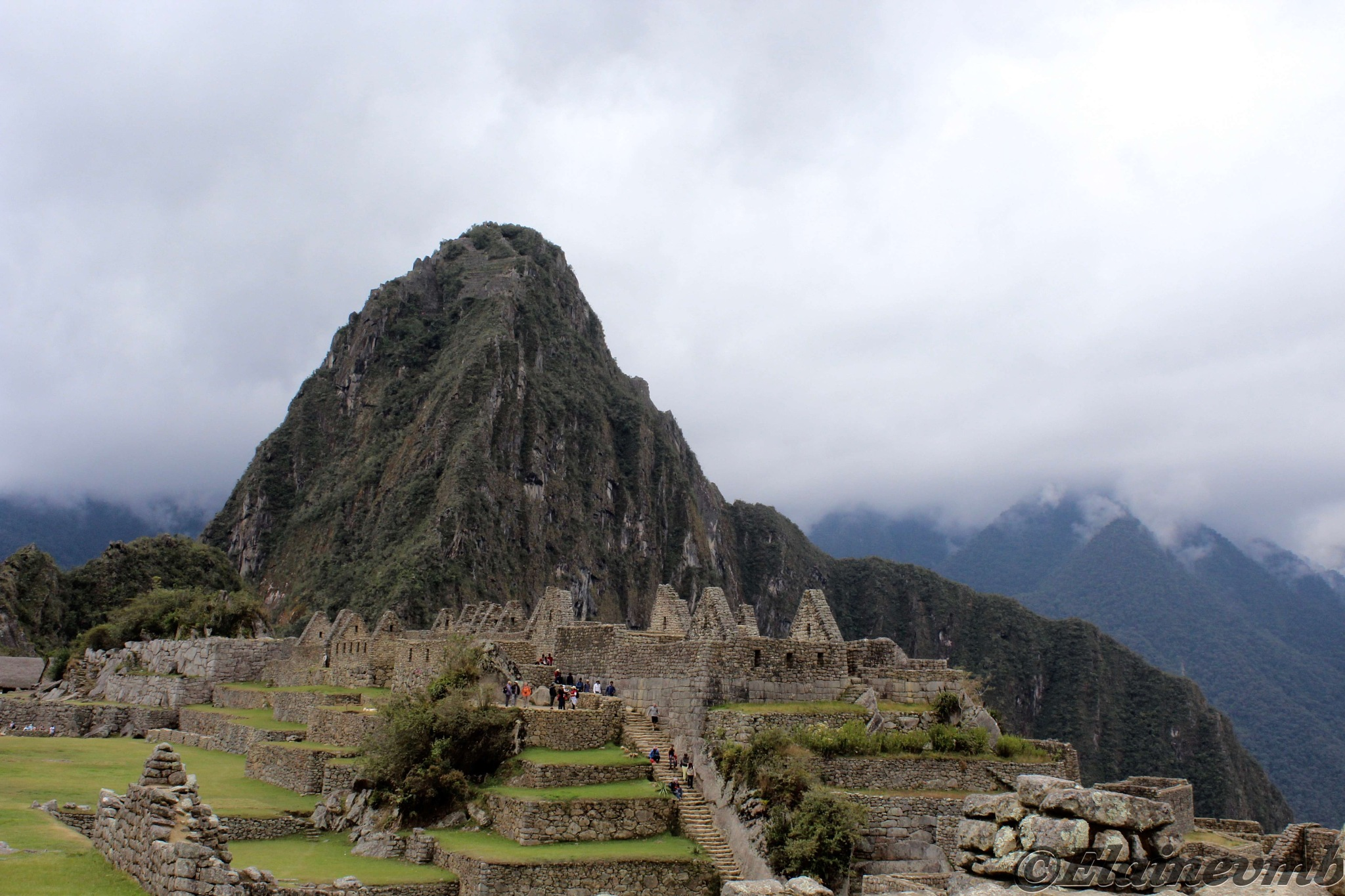 Machu Picchu  by Elaine Montilla