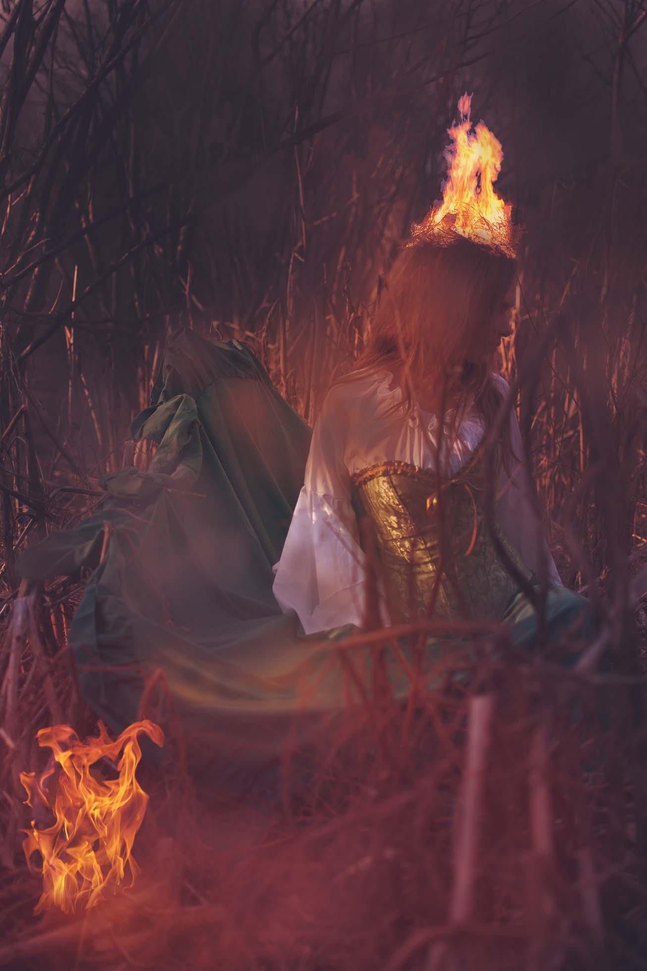 Hot Head by BamajowenPhotography