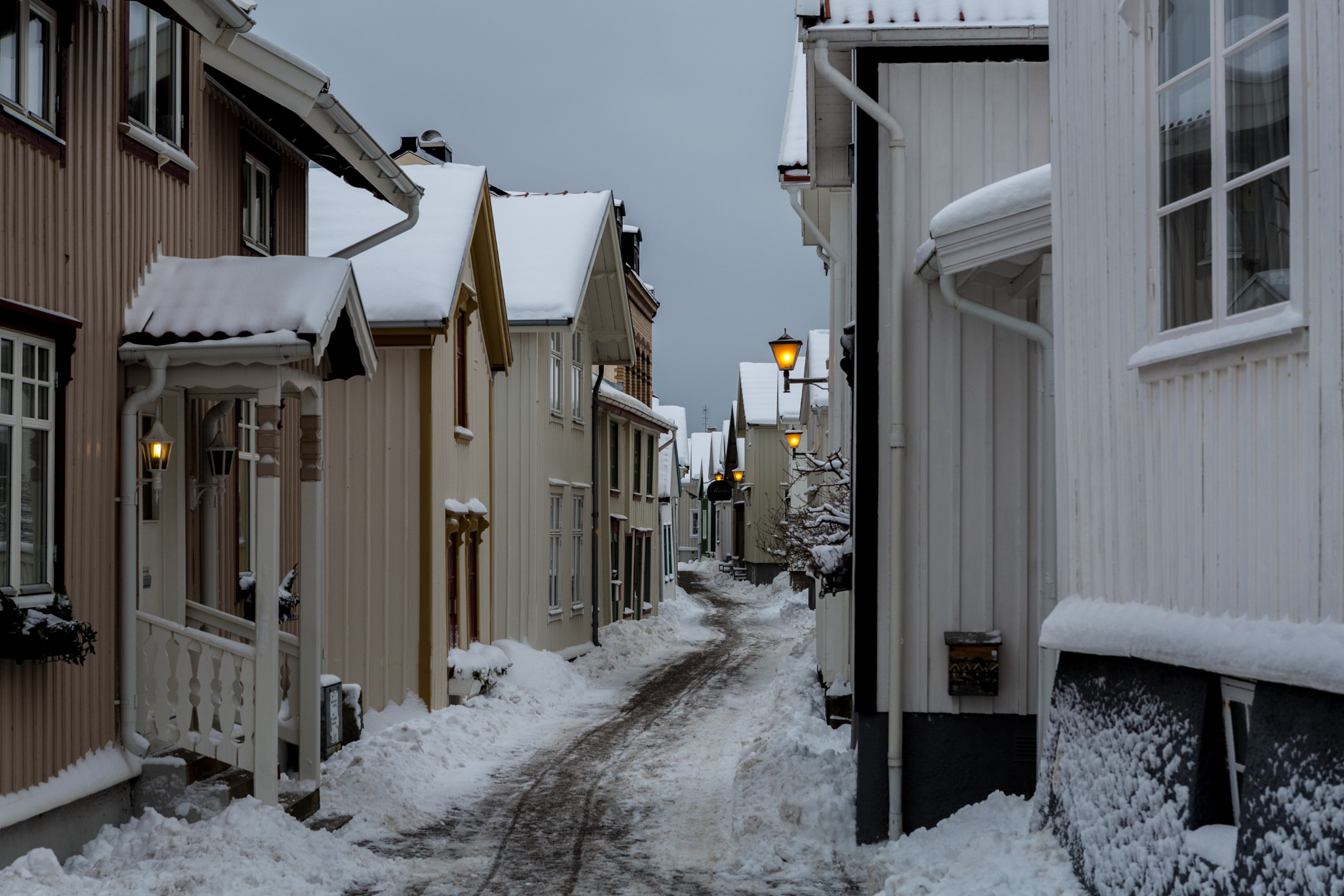 The old city by Pär Ohlson