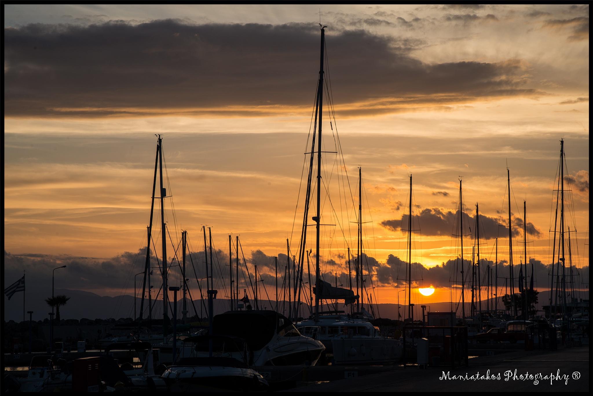 Sunset by Panagiotis Maniatakos