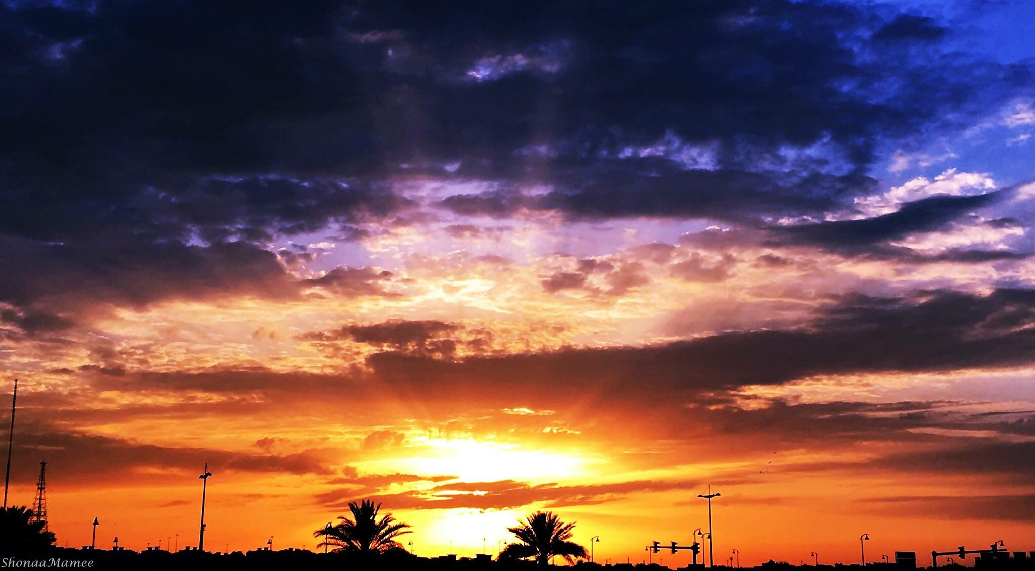 Yesterday's Sunset or Today's Sunrise, who to thank... by Mamata Mohapatra