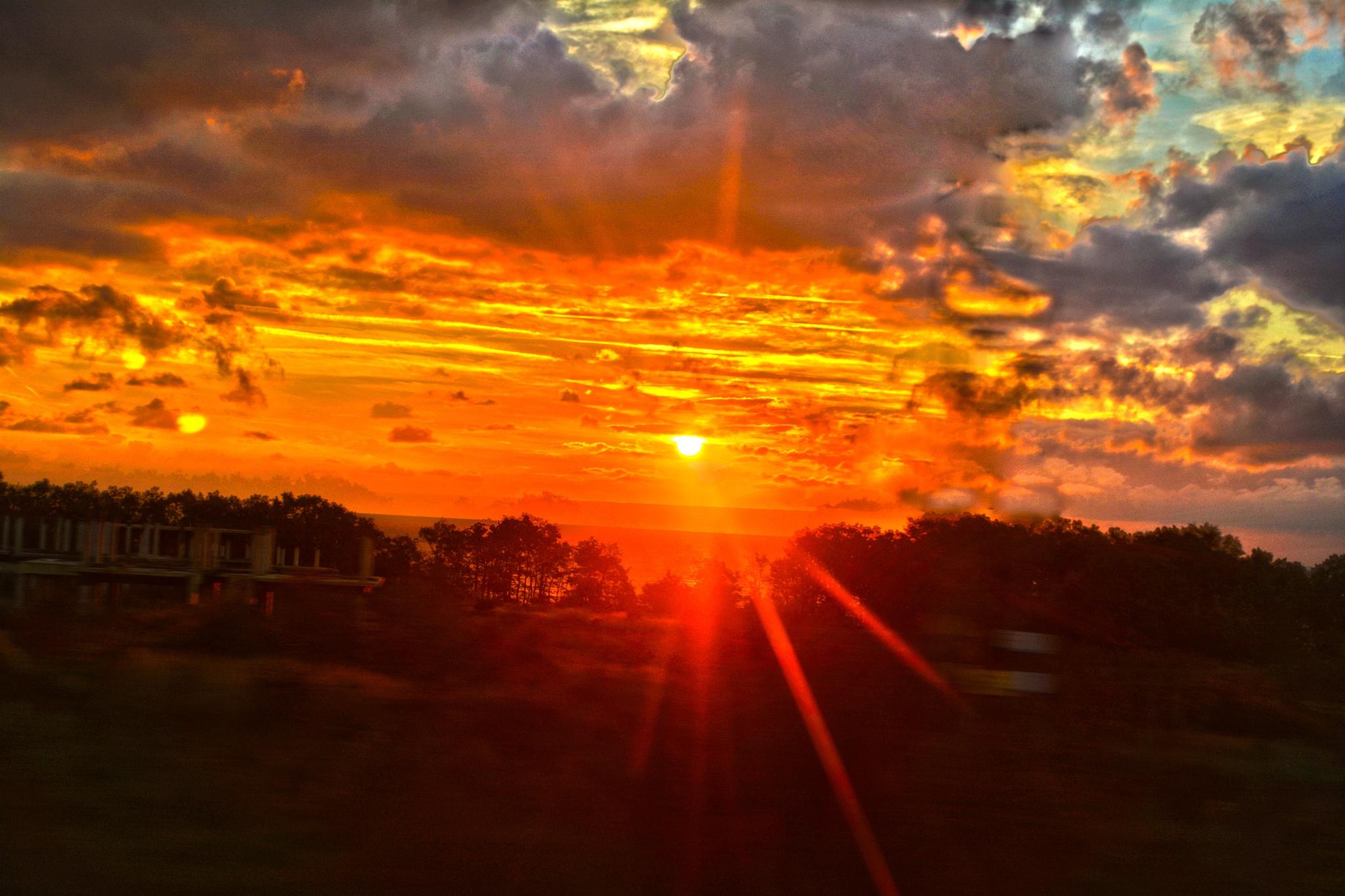 Sunrise near Bourgas by Deni Pavlova Photography