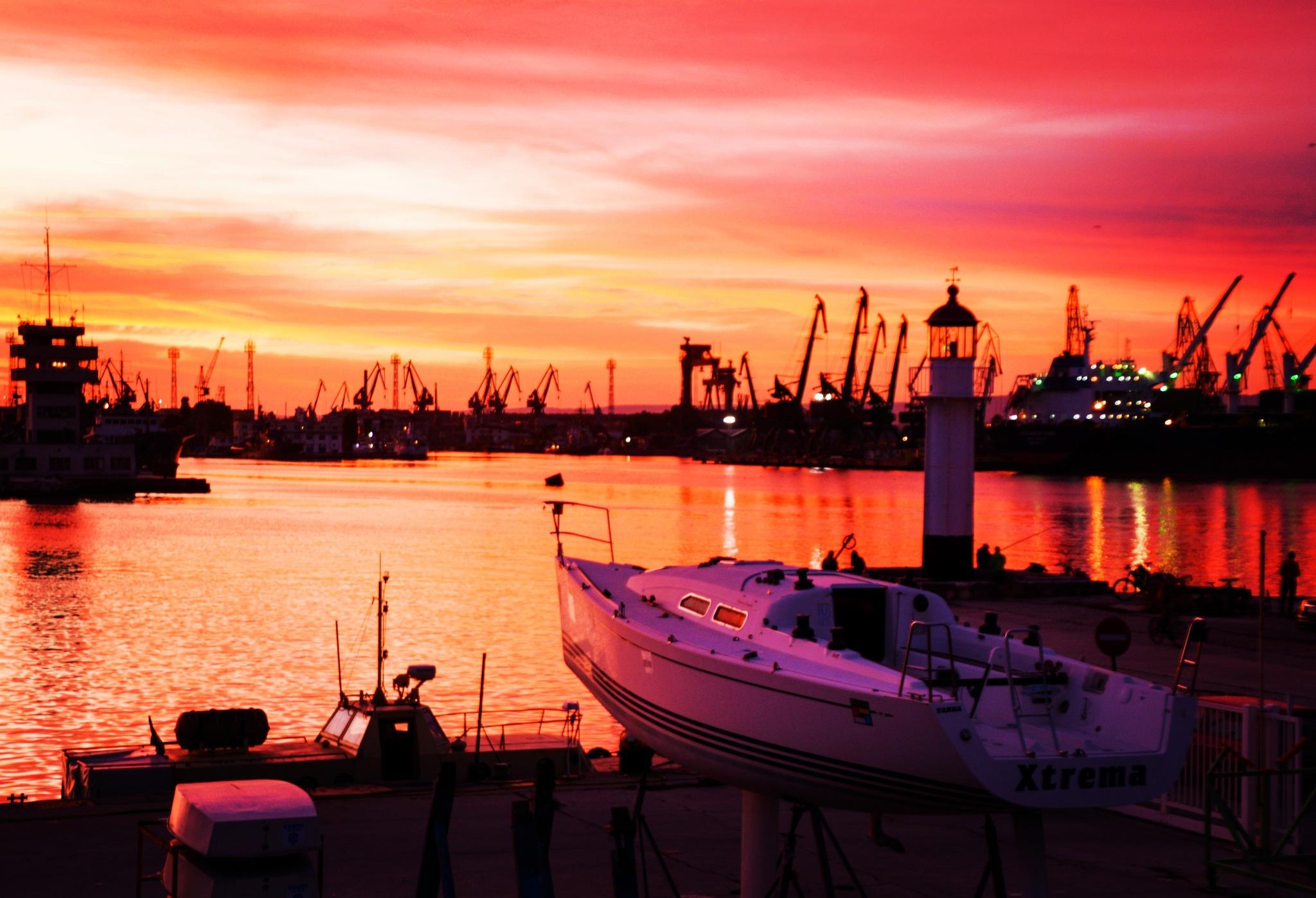 October sunset 2 by Deni Pavlova Photography