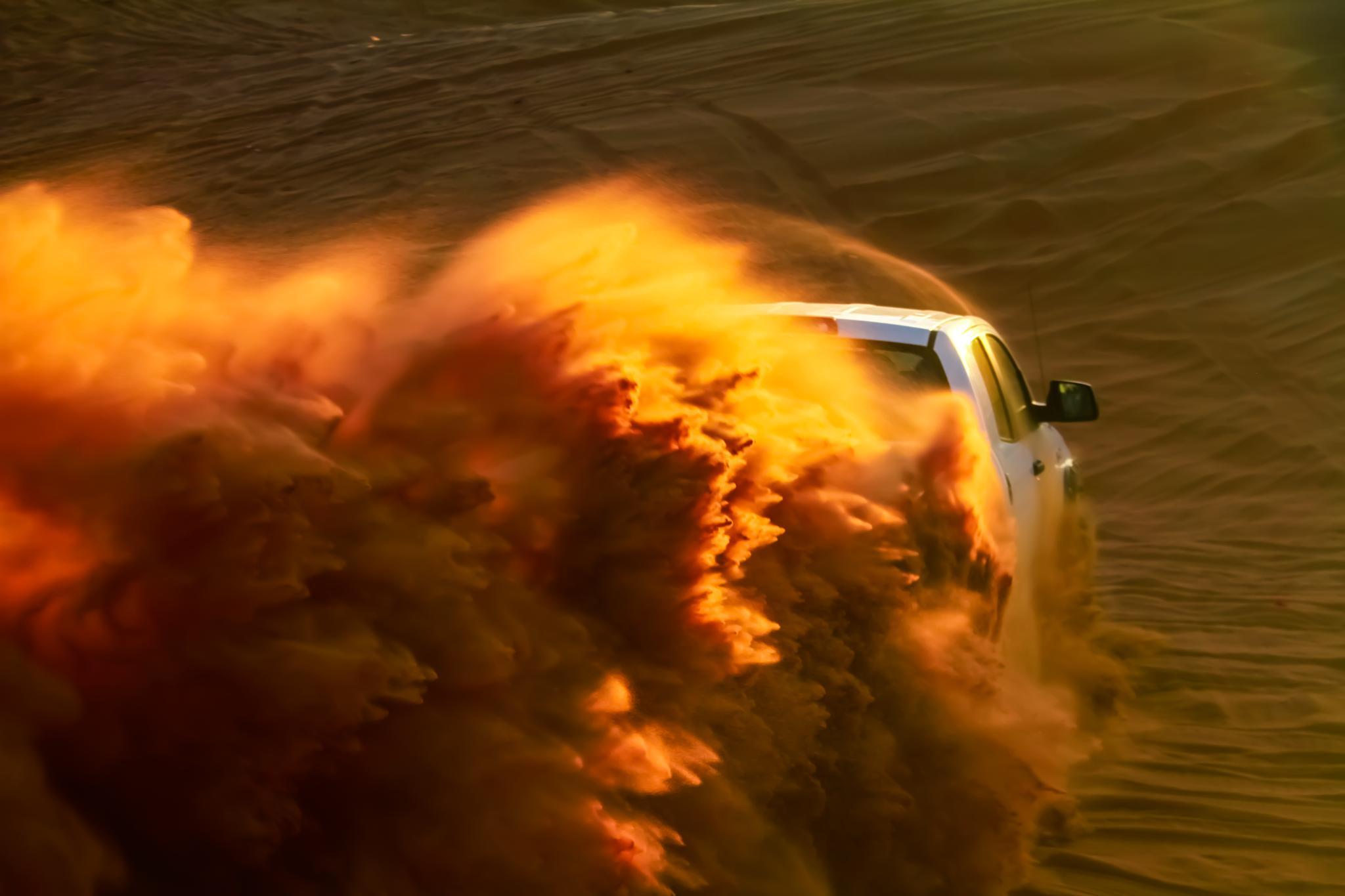 Drift in Desert. by danish.khanxada