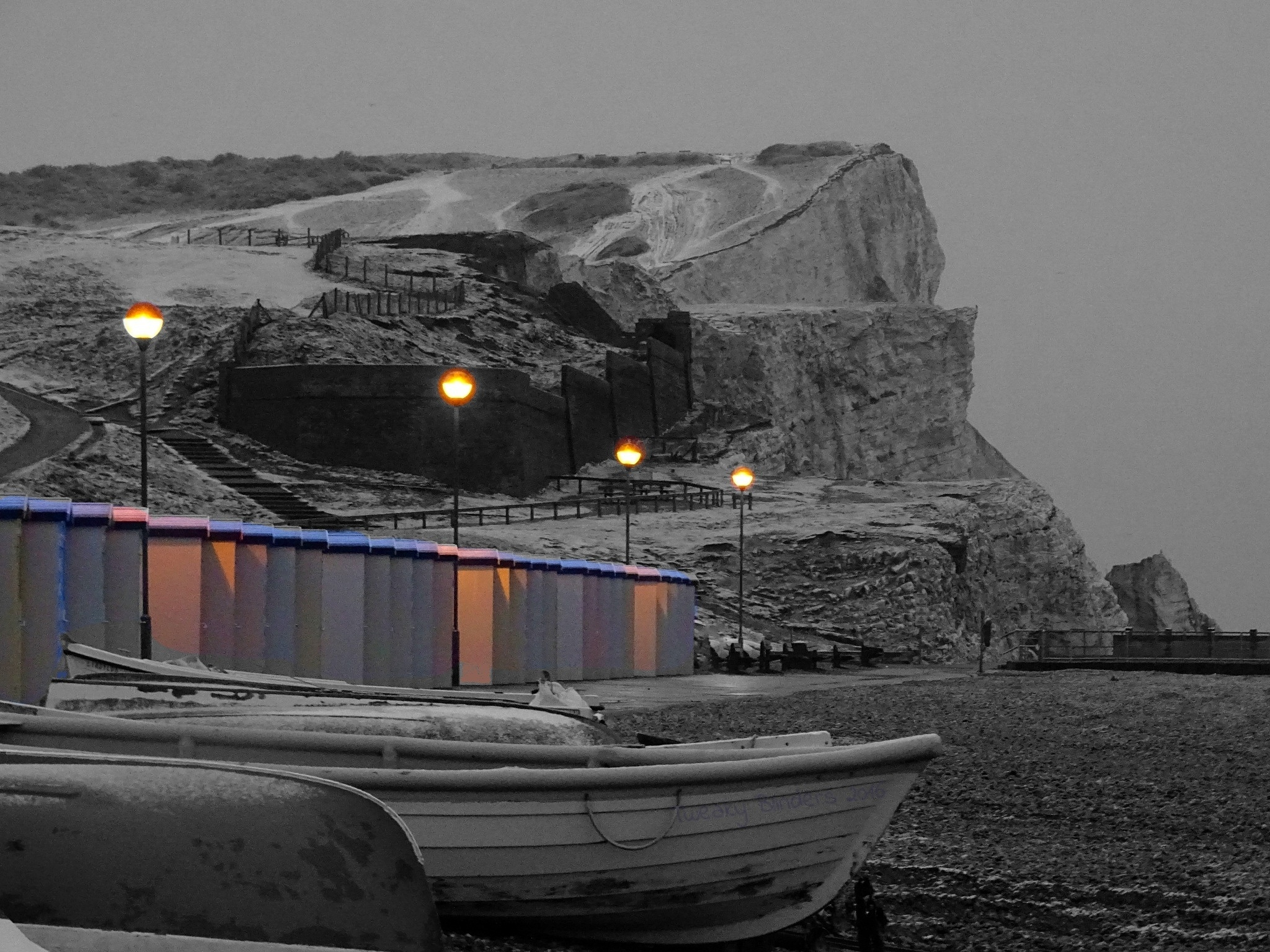 A winter's morning by the sea by Tweaky Blinders
