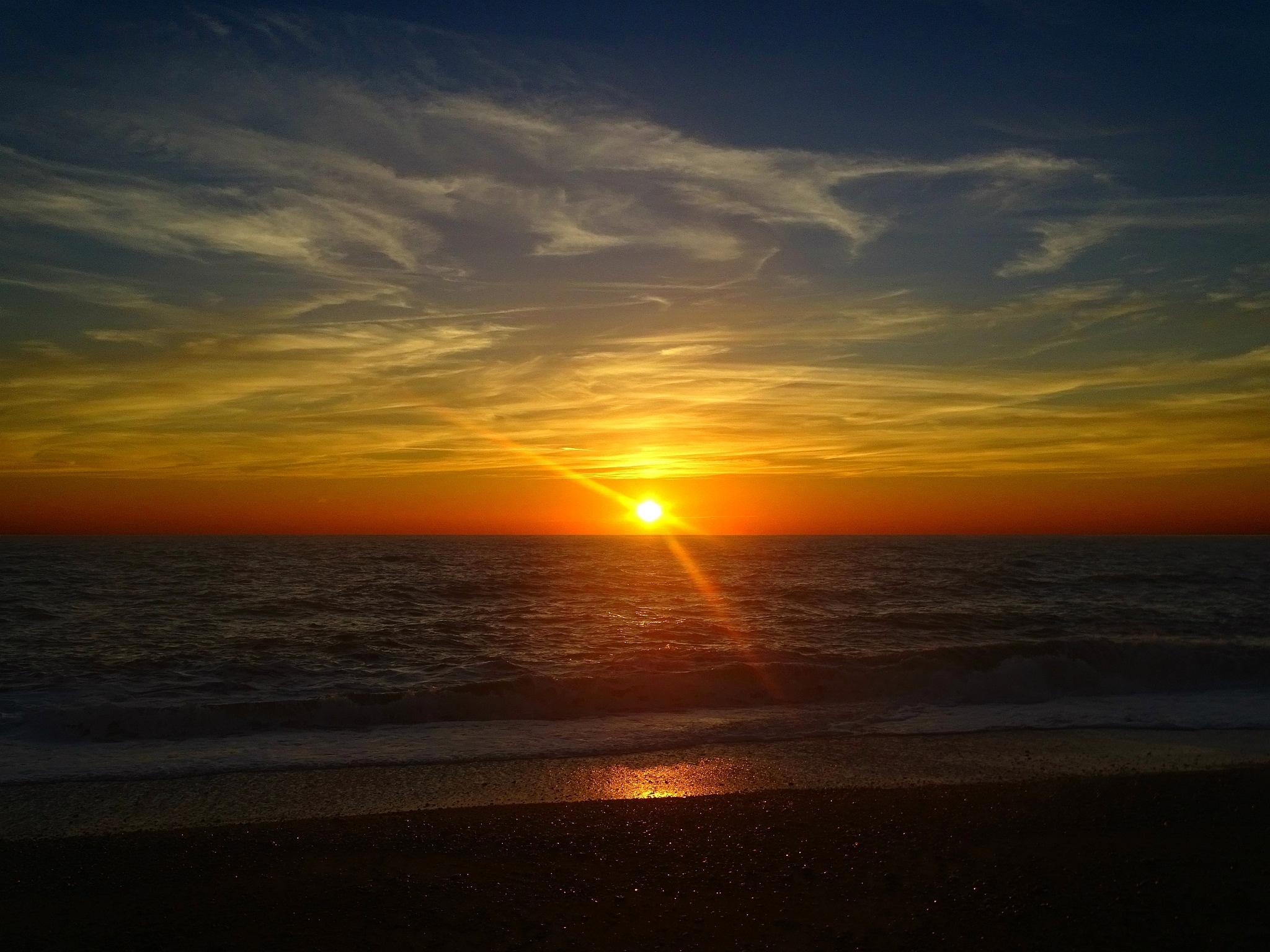 Sunset in the Bay by Tweaky Blinders