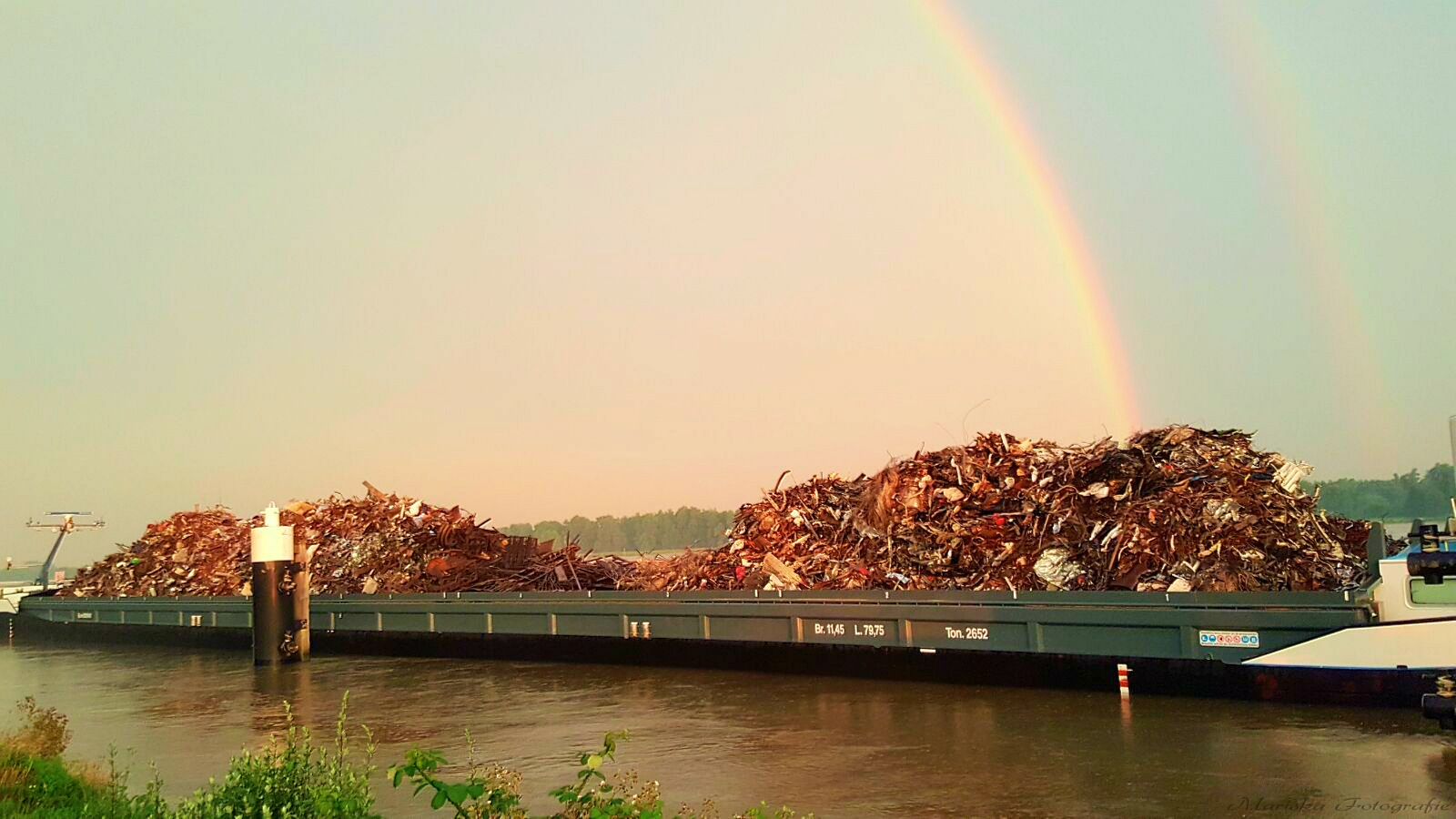 No pot of gold under the rainbow,but a ship full of junk! by Chaynasa