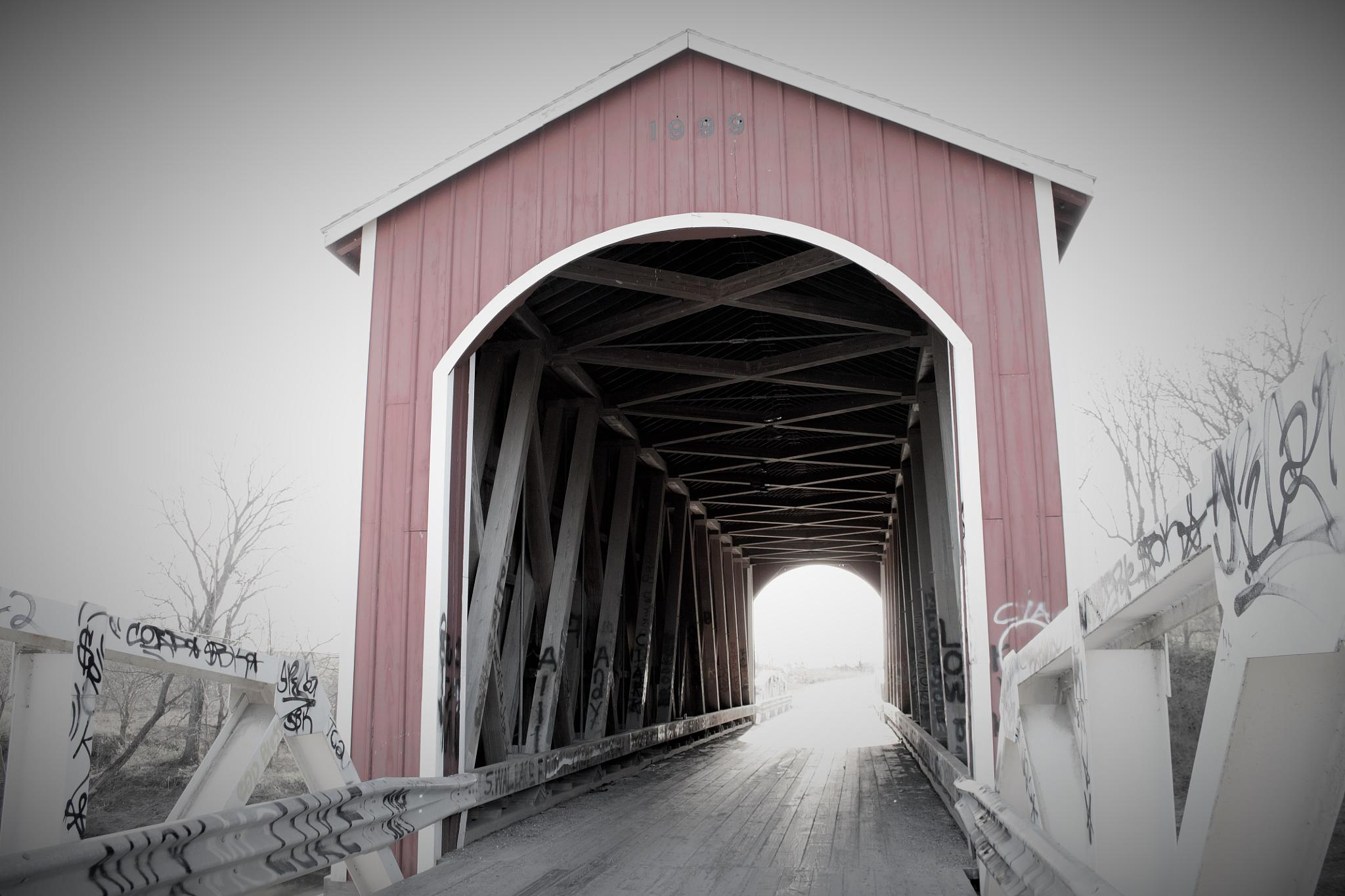 Covered Bridge Over the Spoon River by MissyP87