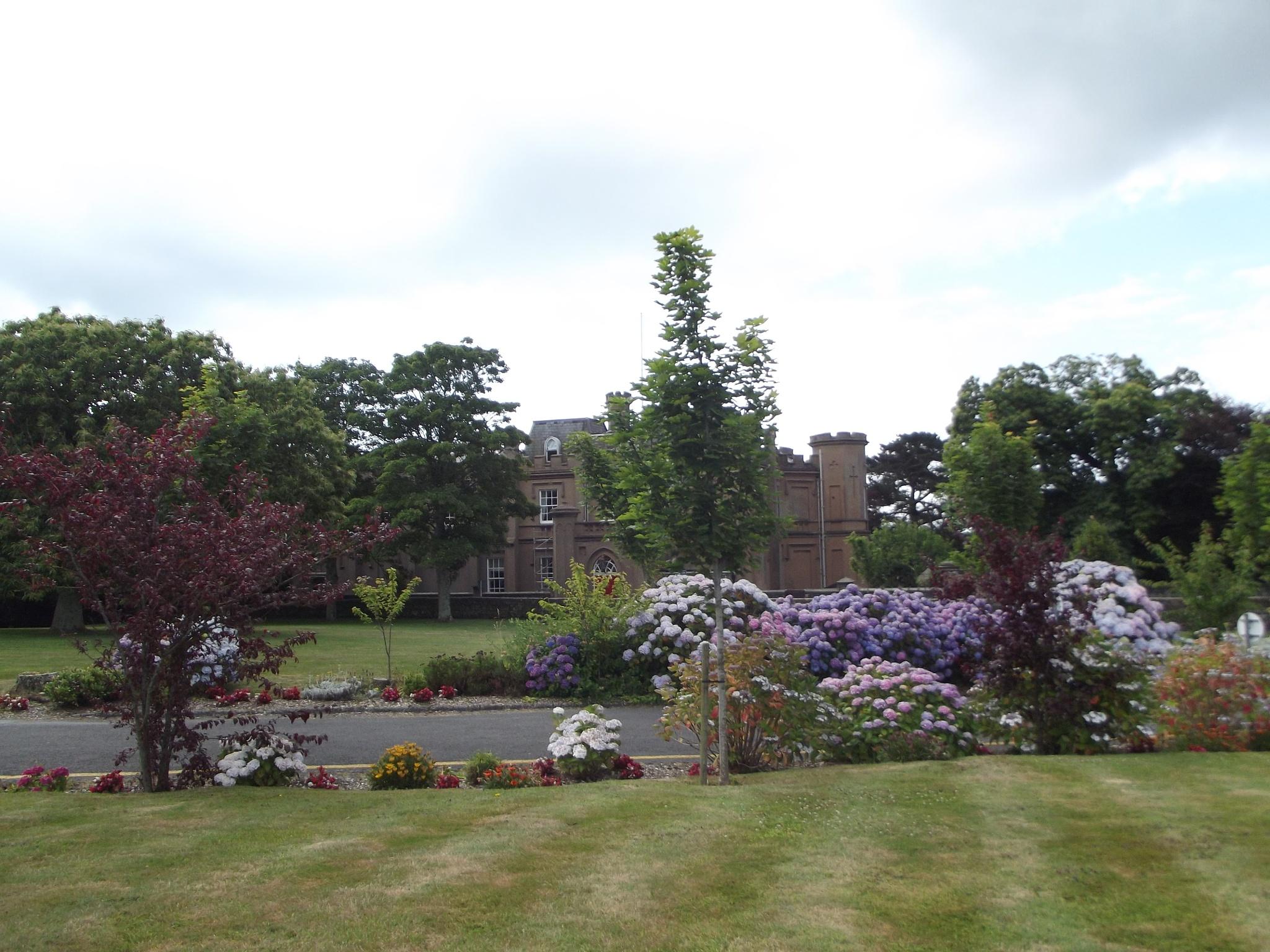 Garden in Guernsey by james.charles.58511