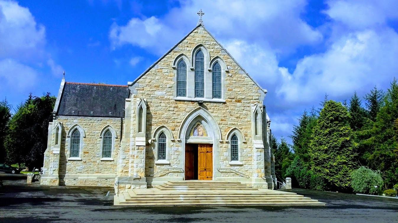 Aughavas Church by james.charles.58511
