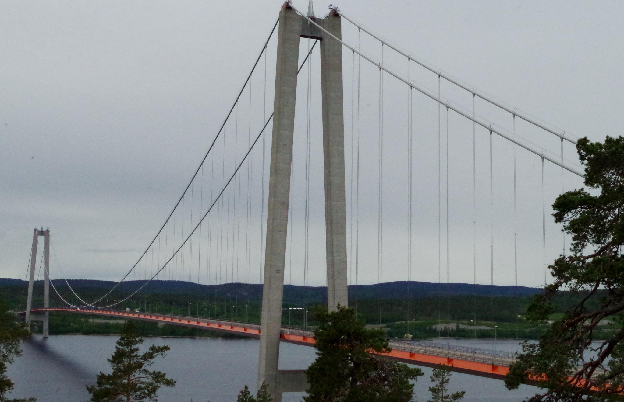 The High Coast Bridge  by MsVoff