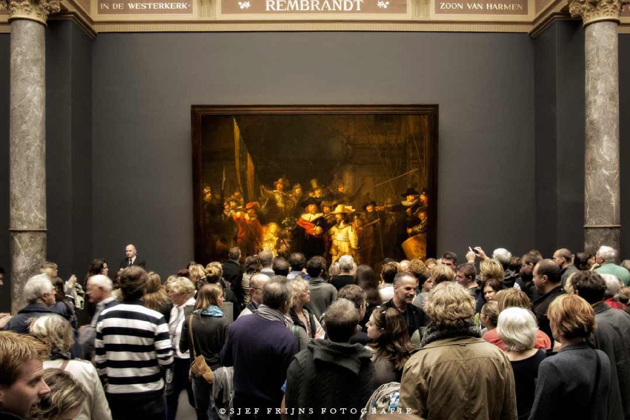 Nightwatch in the Rijksmuseum by sjef.frijns