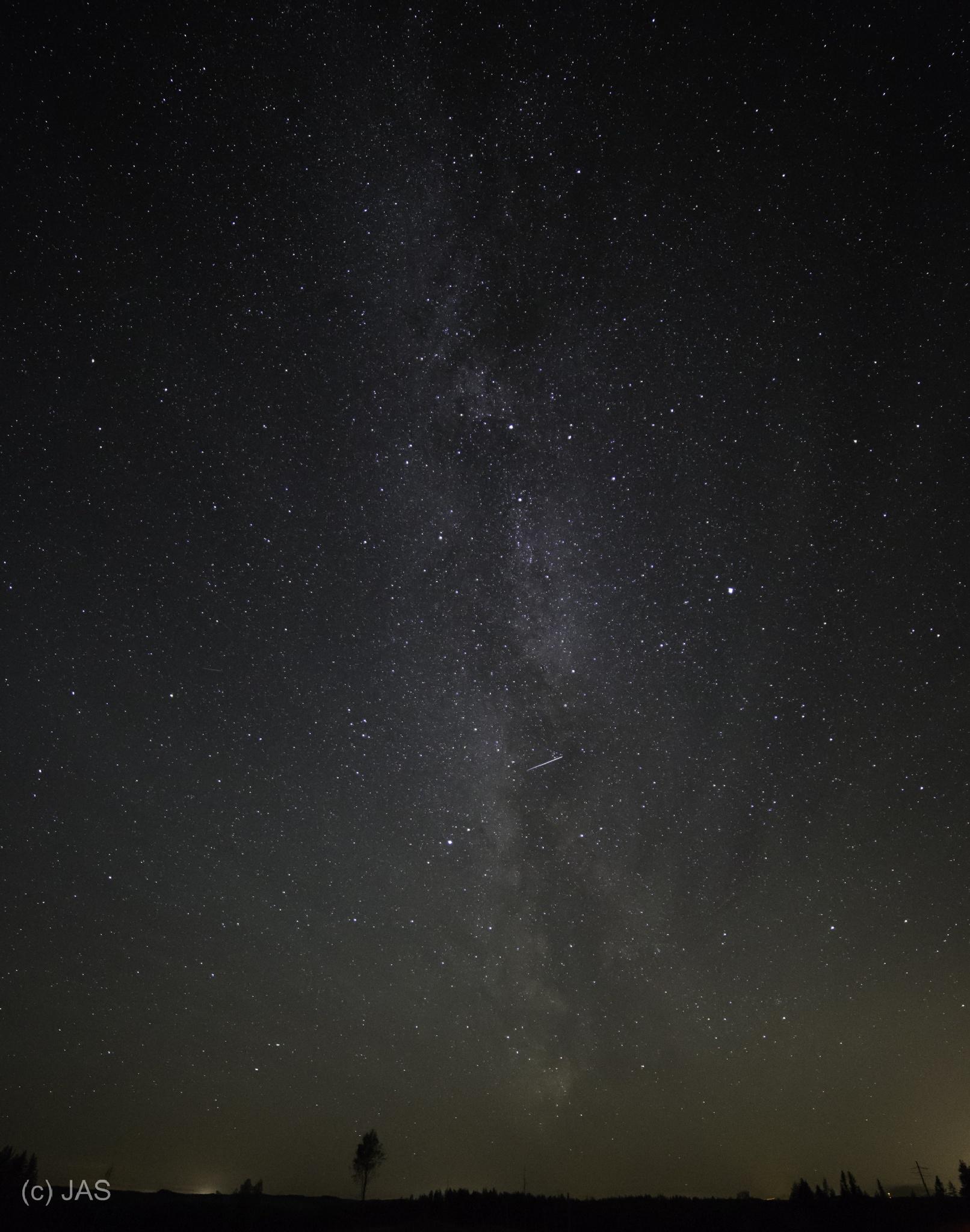 Galaxy in North Karelia by Jylppy