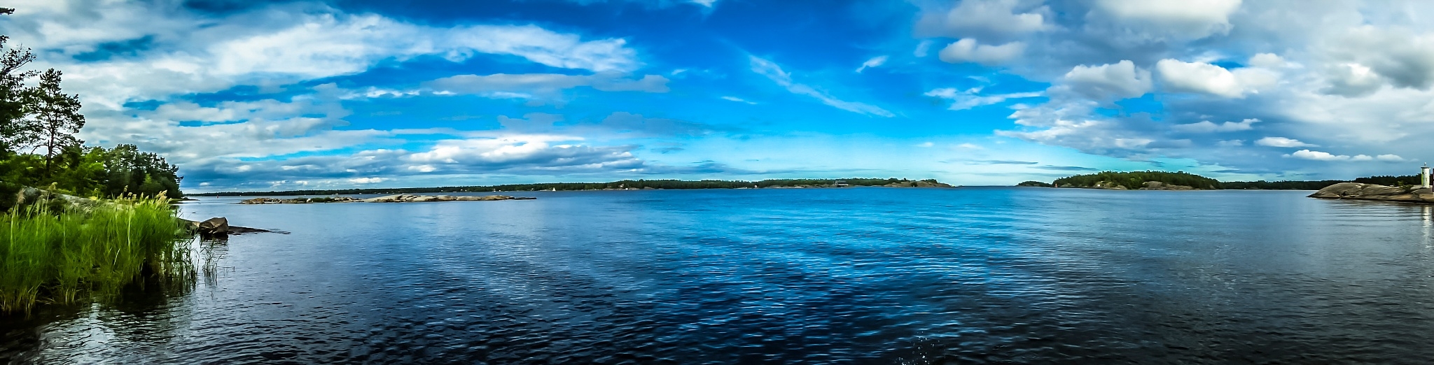 Panorama. Swedish East Coast. by marielle axelsson
