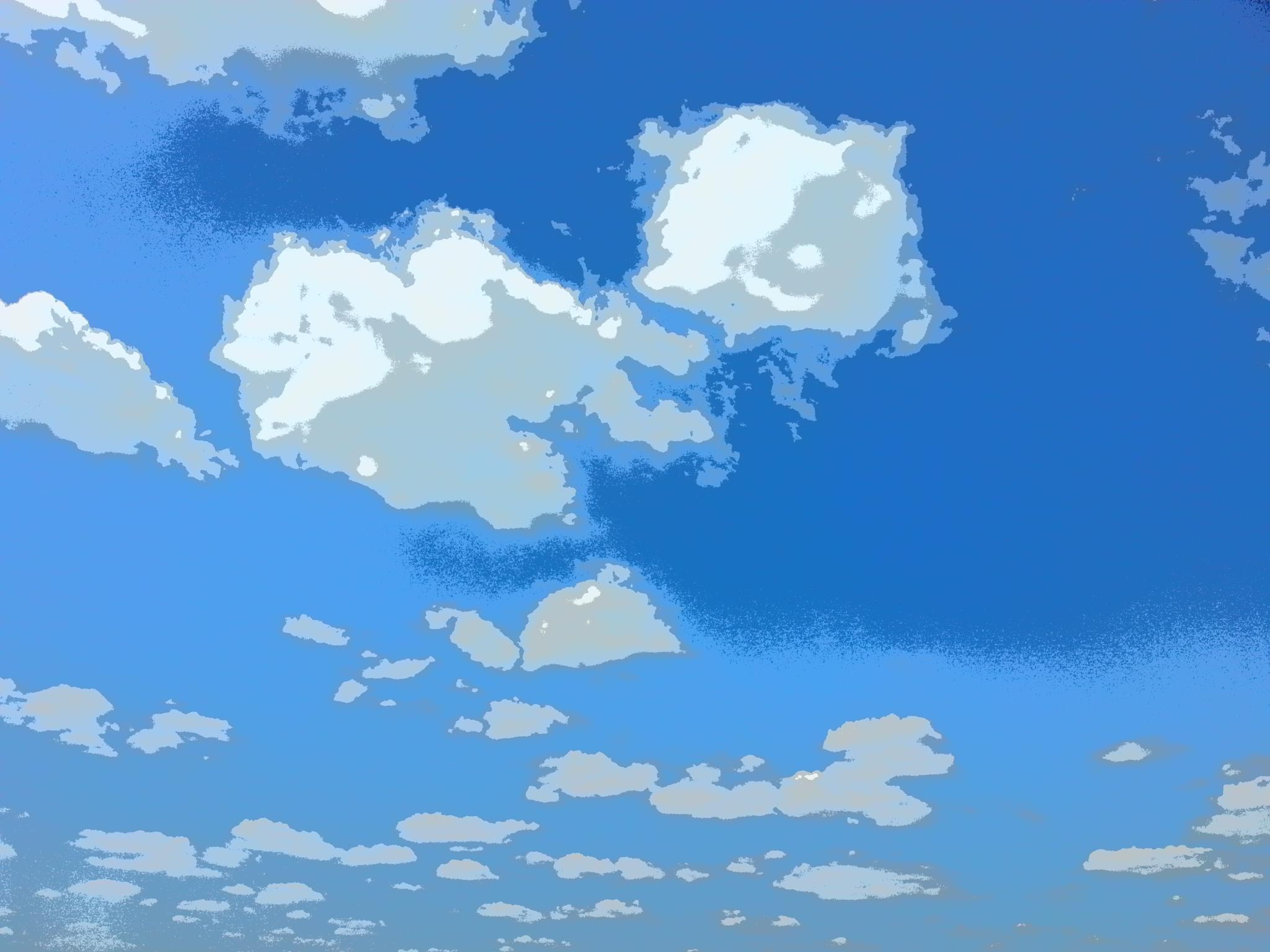 Photo in Nature #clouds #artsy #cartoony