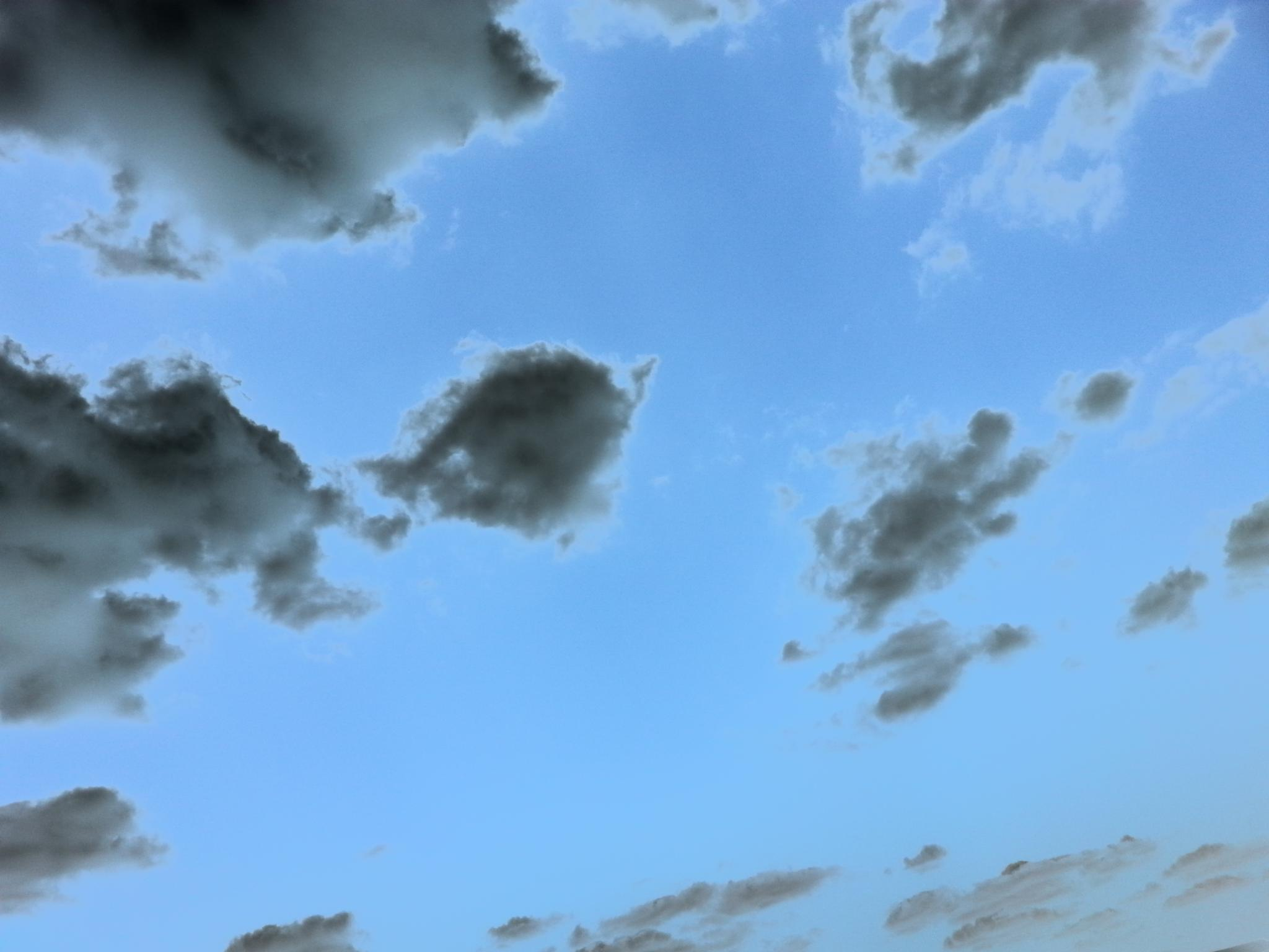 Photo in Nature #clouds #polarized #artsy