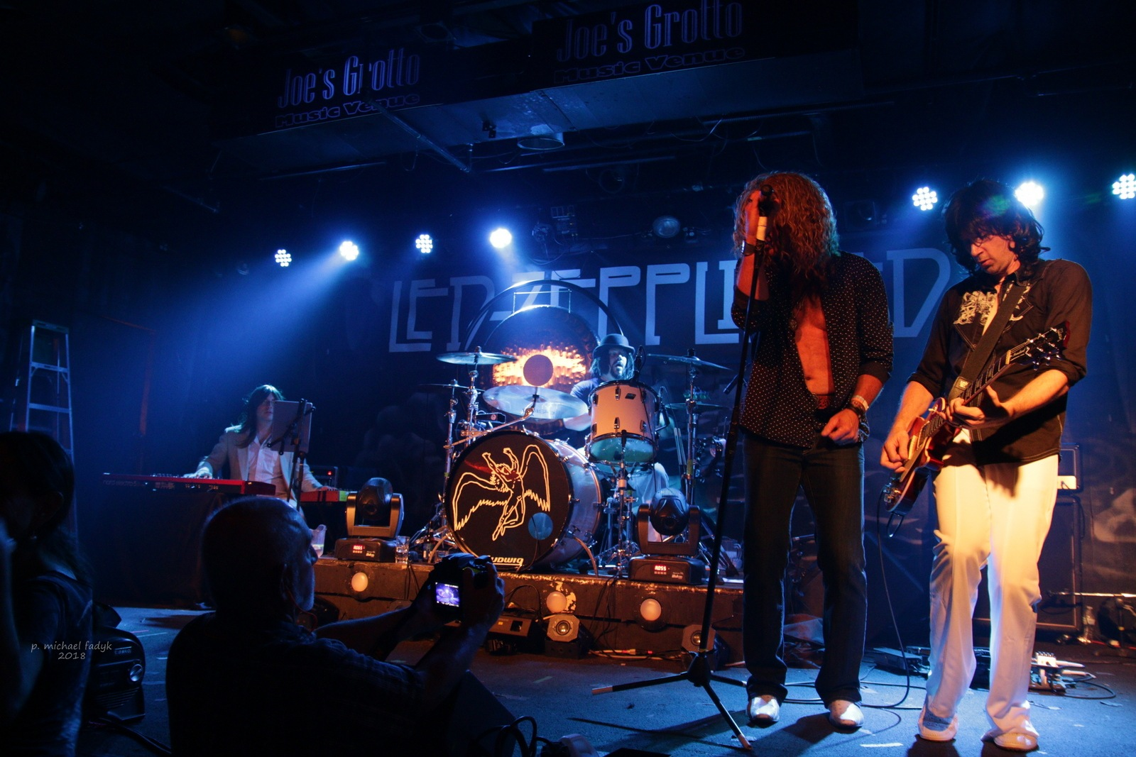 led zeppelin tribte band by P. Michael Fadyk