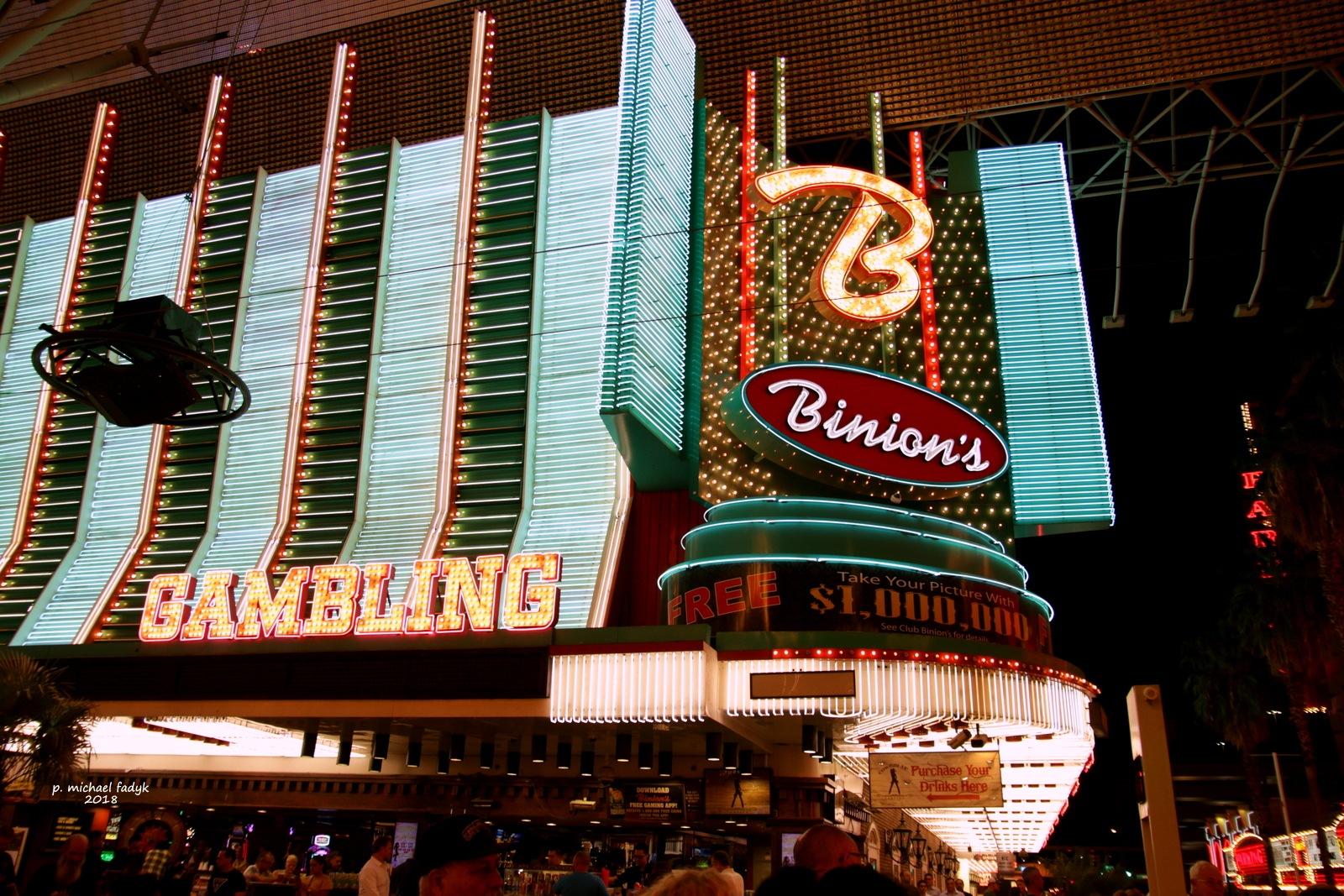 Binion's Gambling House by P. Michael Fadyk