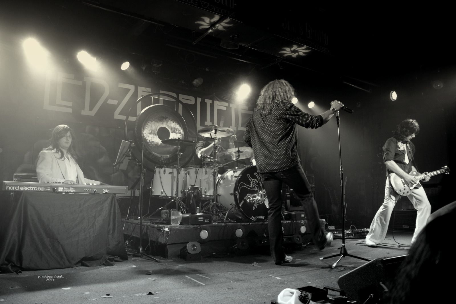 led zeppelin tribute band 6 by P. Michael Fadyk