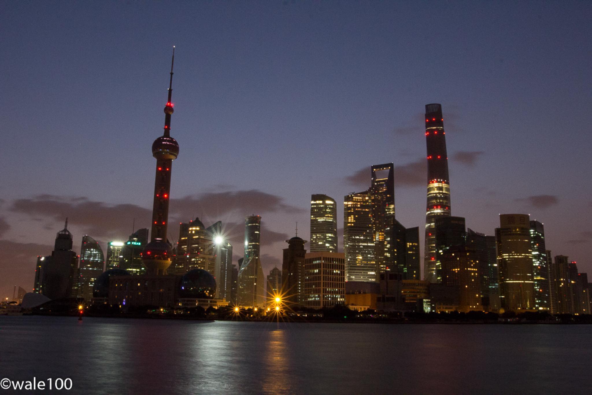 Shanghai Sunrise by wale