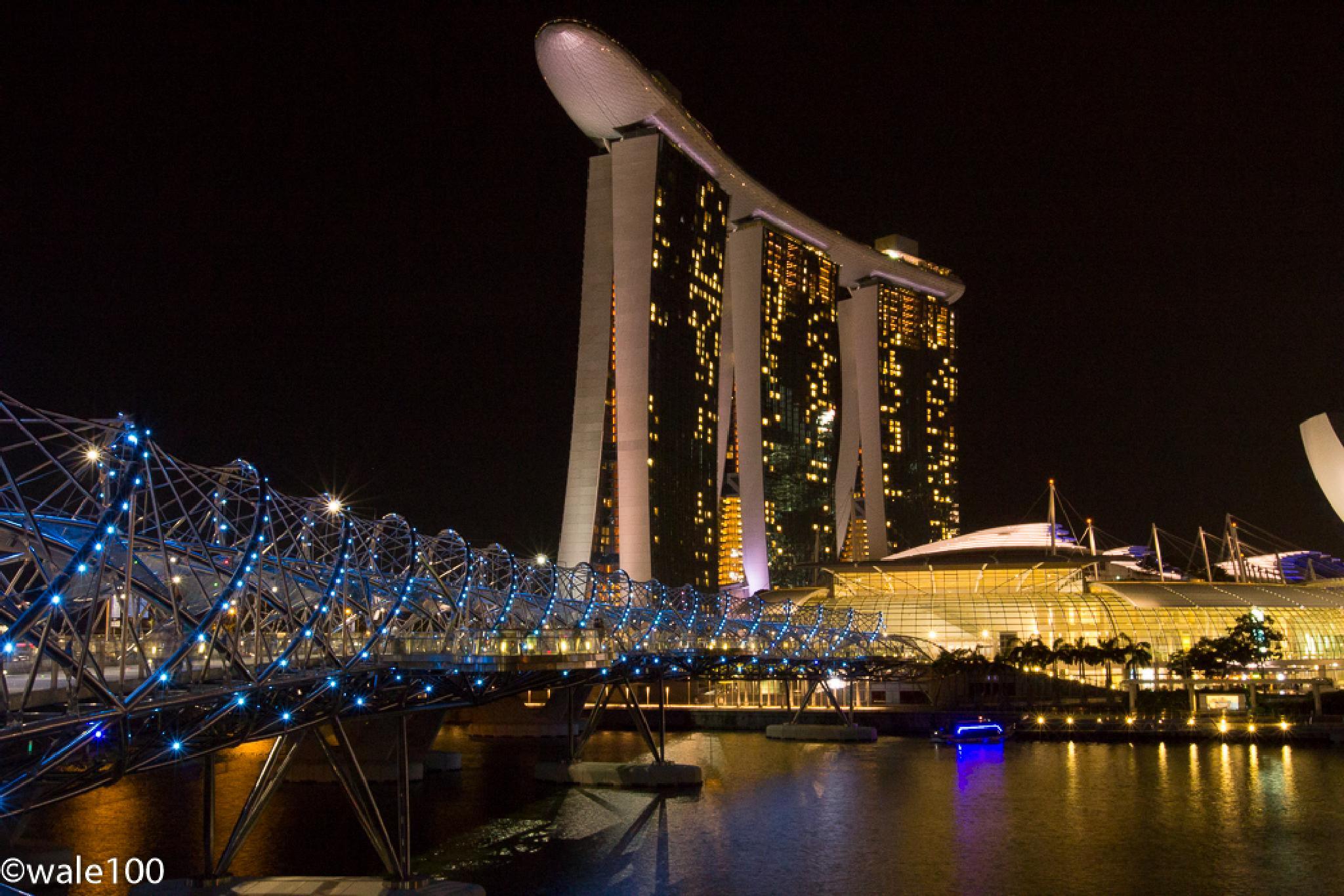 Singapore Marina by wale
