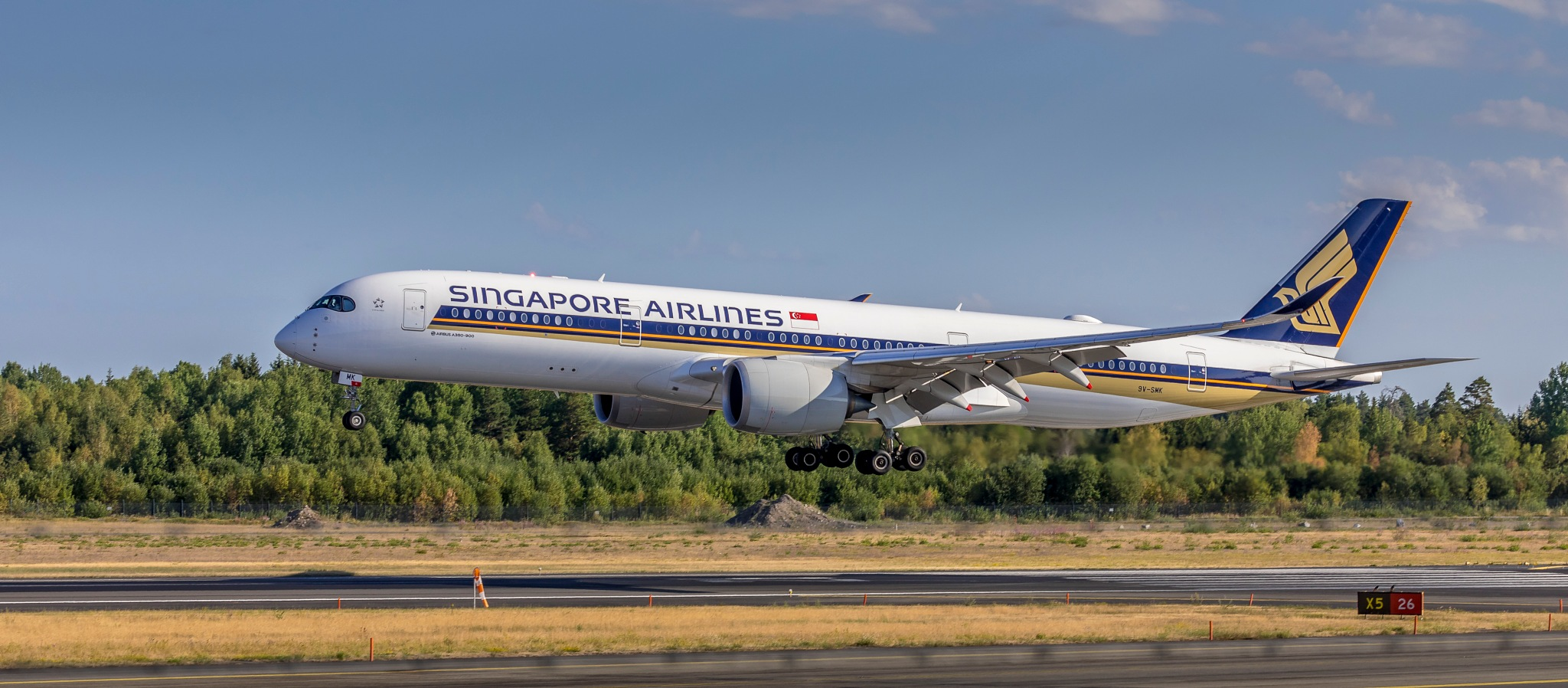 Singapore Airlines by Kim Jonsson